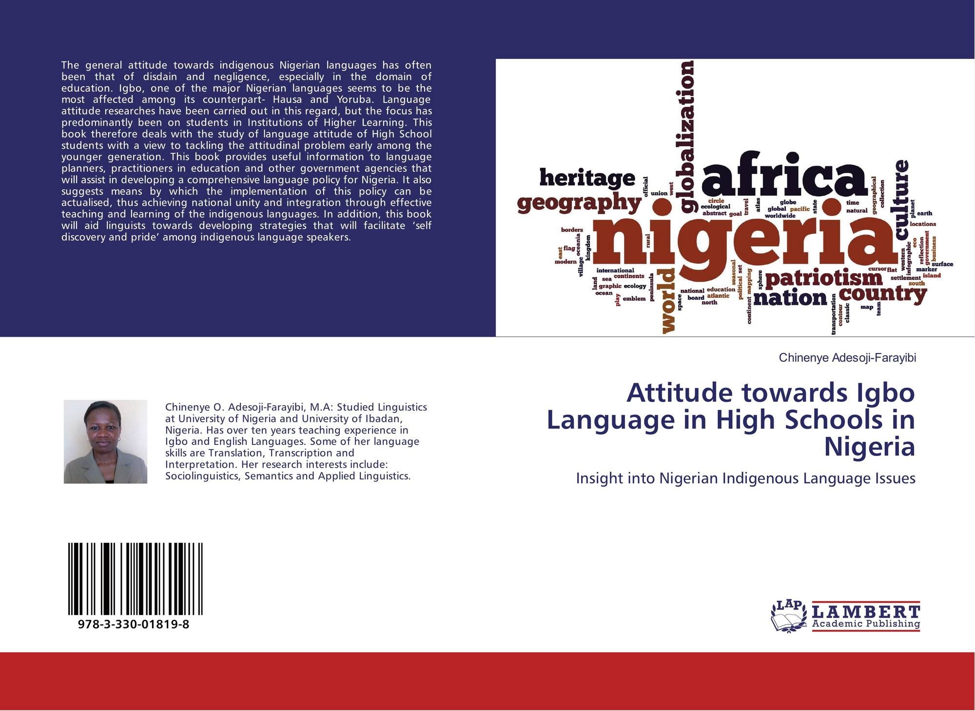 language attitude in nigeria Motivation & attitude towards arabic language/ kazeem, arifin, ismail & ismaiel 53 consequently, arabic language in nigerian universities is considered by many people as a course that is.