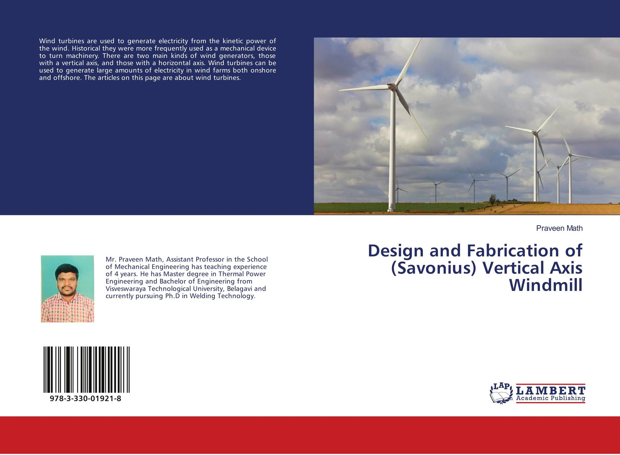 Design and Fabrication of (Savonius) Vertical Axis Windmill