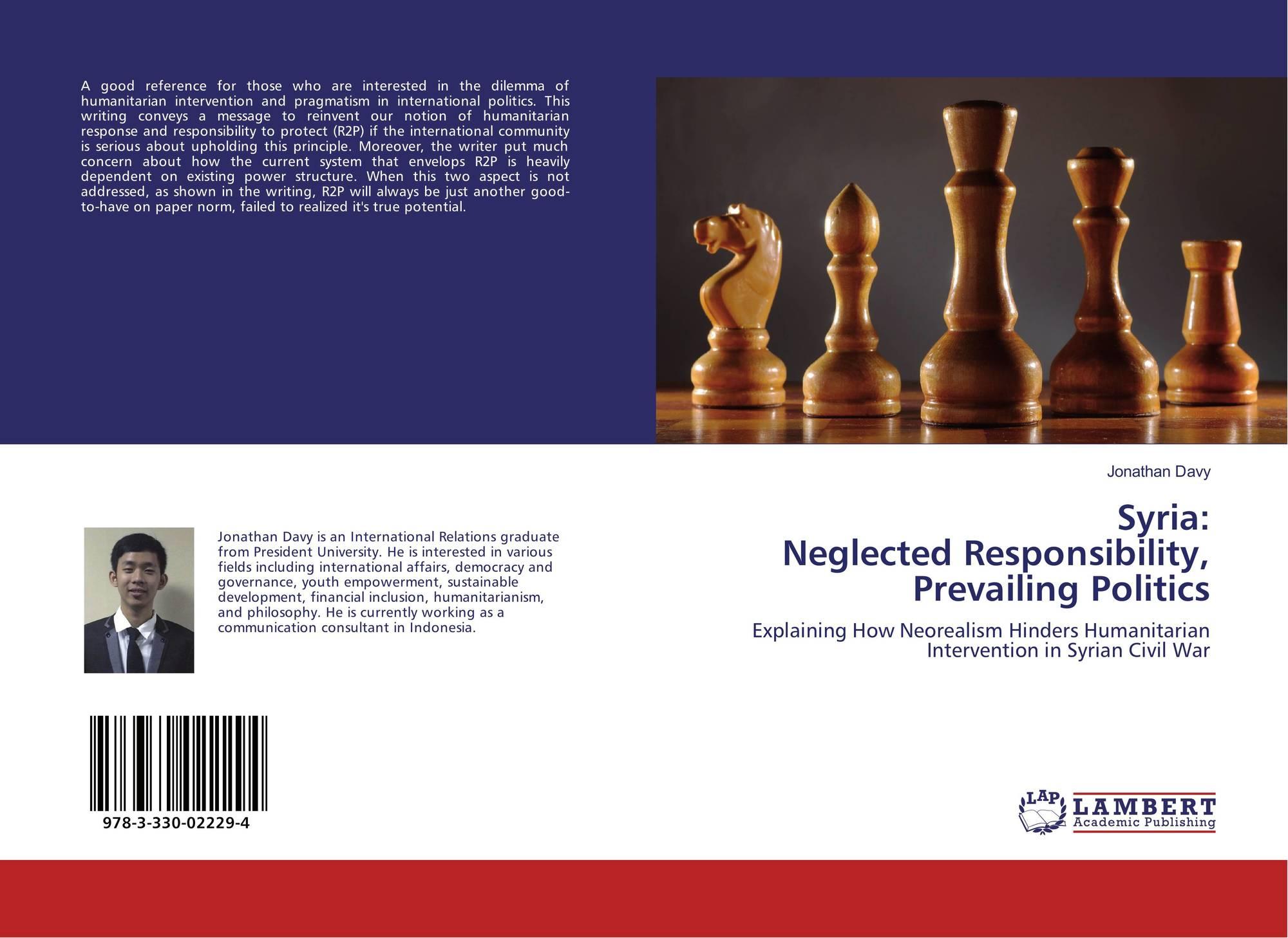Syria: Neglected Responsibility, Prevailing Politics, 978-3-330