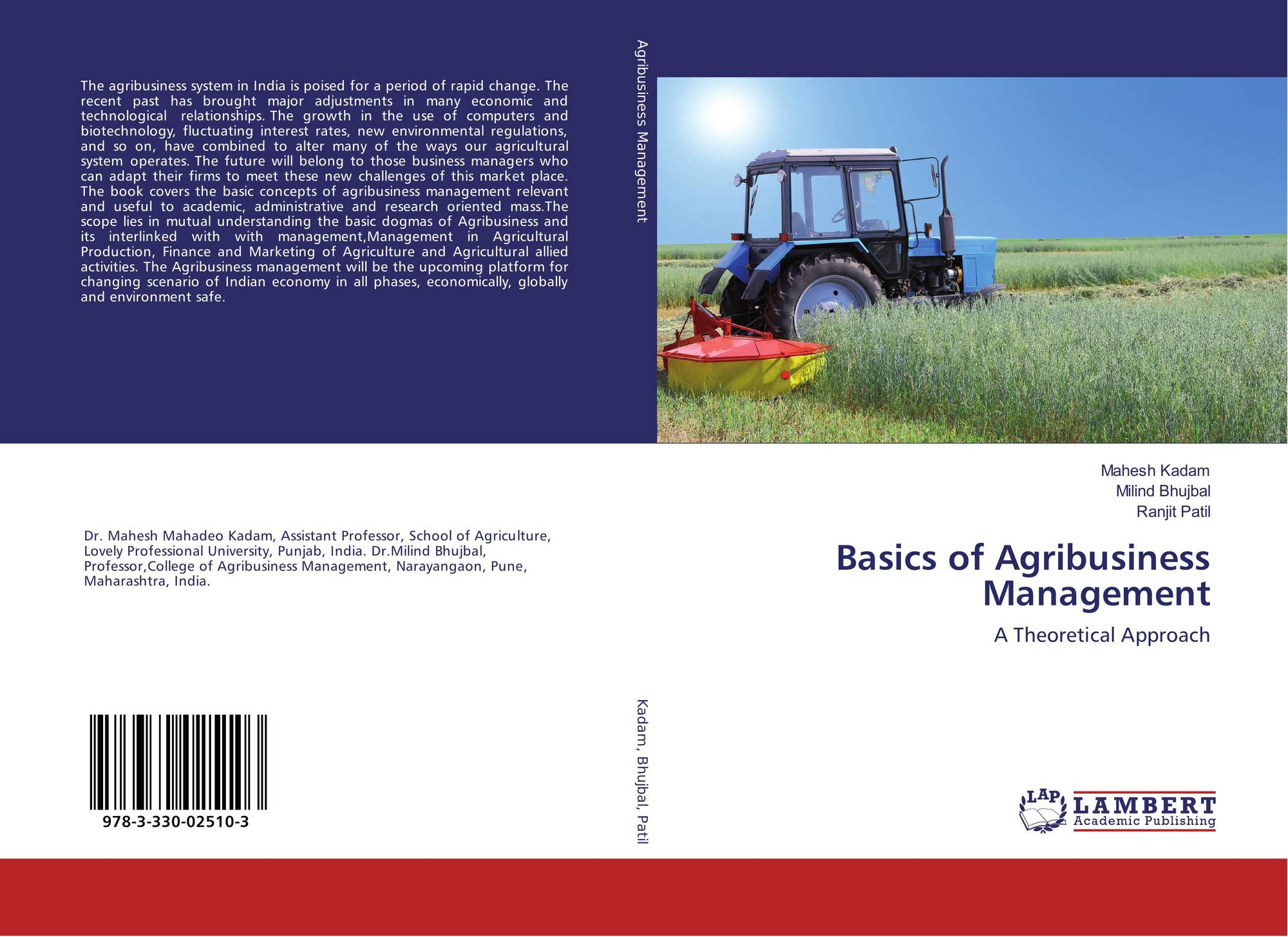 agribusiness management Bachelor of science in agricultural/food business management, major in  agricultural business management prepare yourself for a career in agricultural.