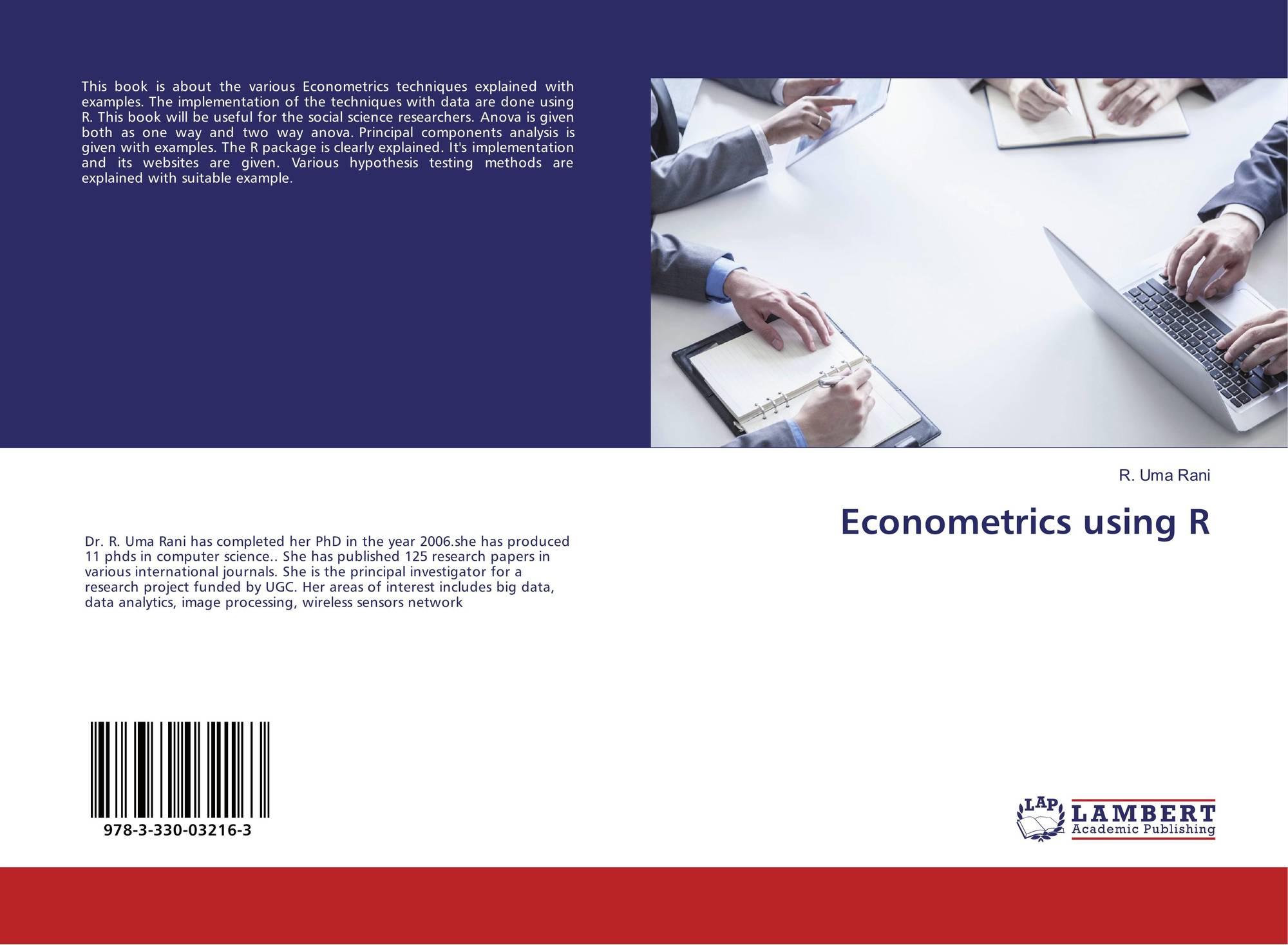 Econometrics using R, 978-3-330-03216-3, 3330032162