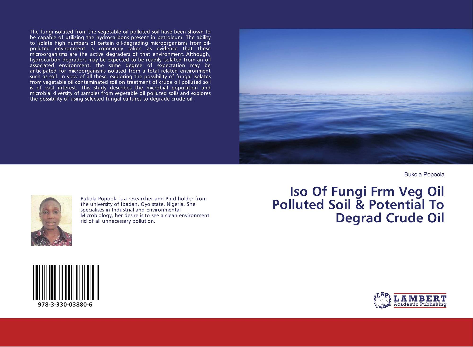 assay of oil degrading potential of fungi