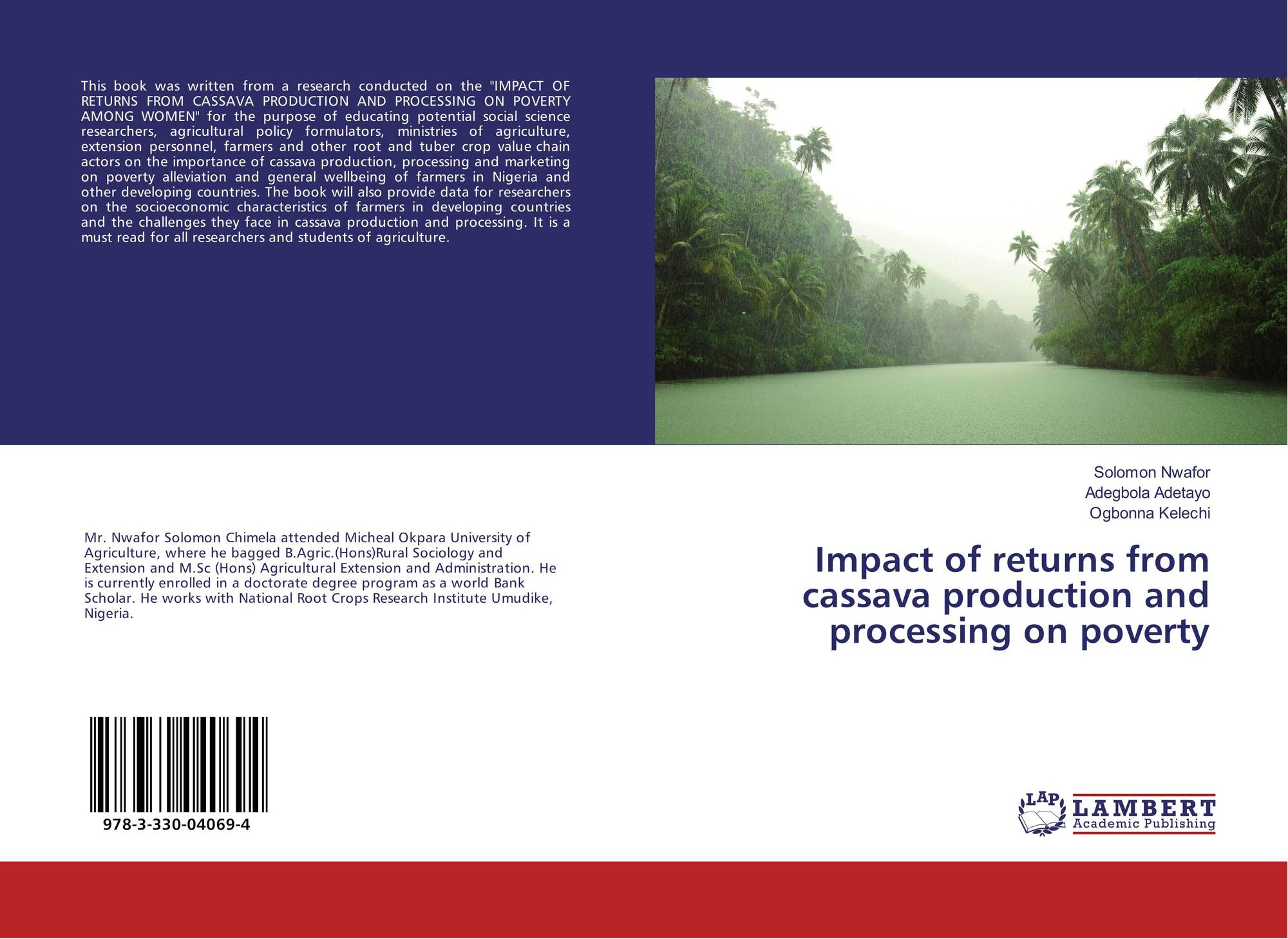 Impact of returns from cassava production and processing on poverty