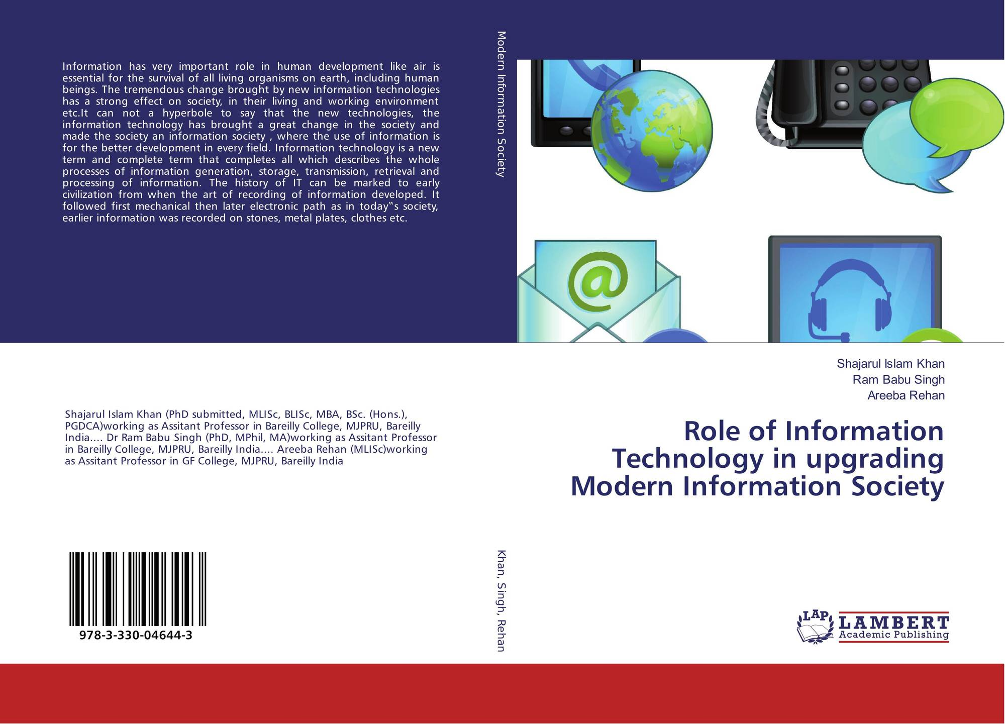 an introduction to the history and the importance of information technology it in todays society Basing on the example above, technology by its self is not harmful to the society, but the way society uses technology to achieve specific goals is what results into negative impacts of technology on the society.