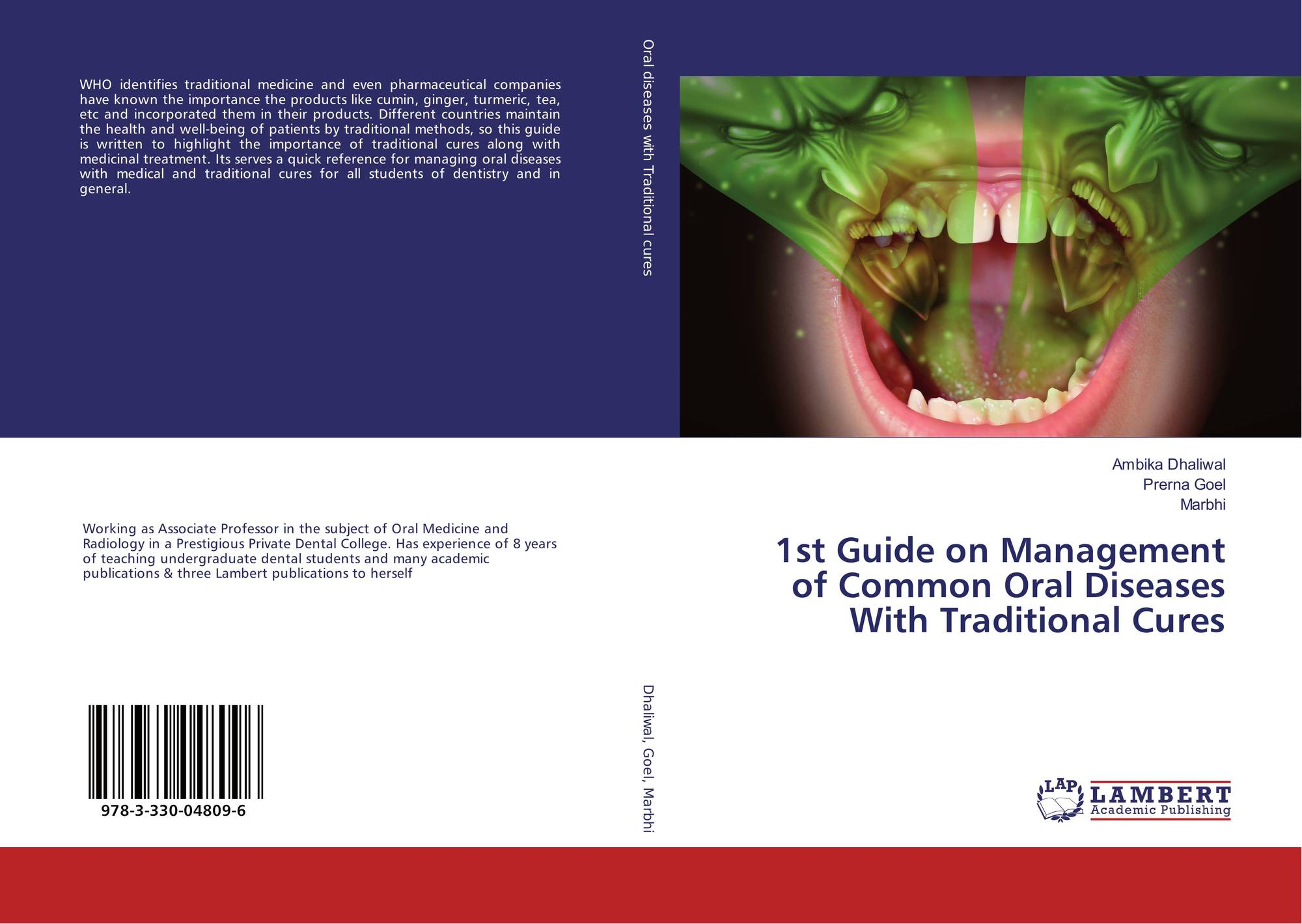 1st Guide on Management of Common Oral Diseases With