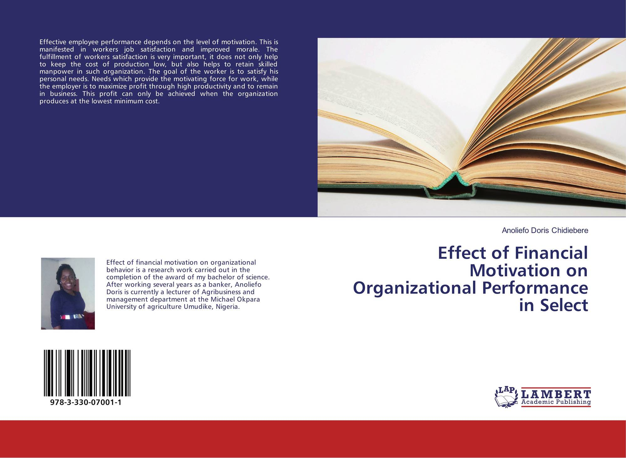 Effect Of Financial Motivation On Organizational Performance