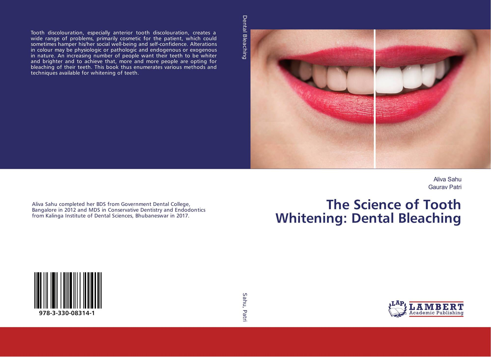 White Teeth Book Cover ~ The science of tooth whitening dental bleaching