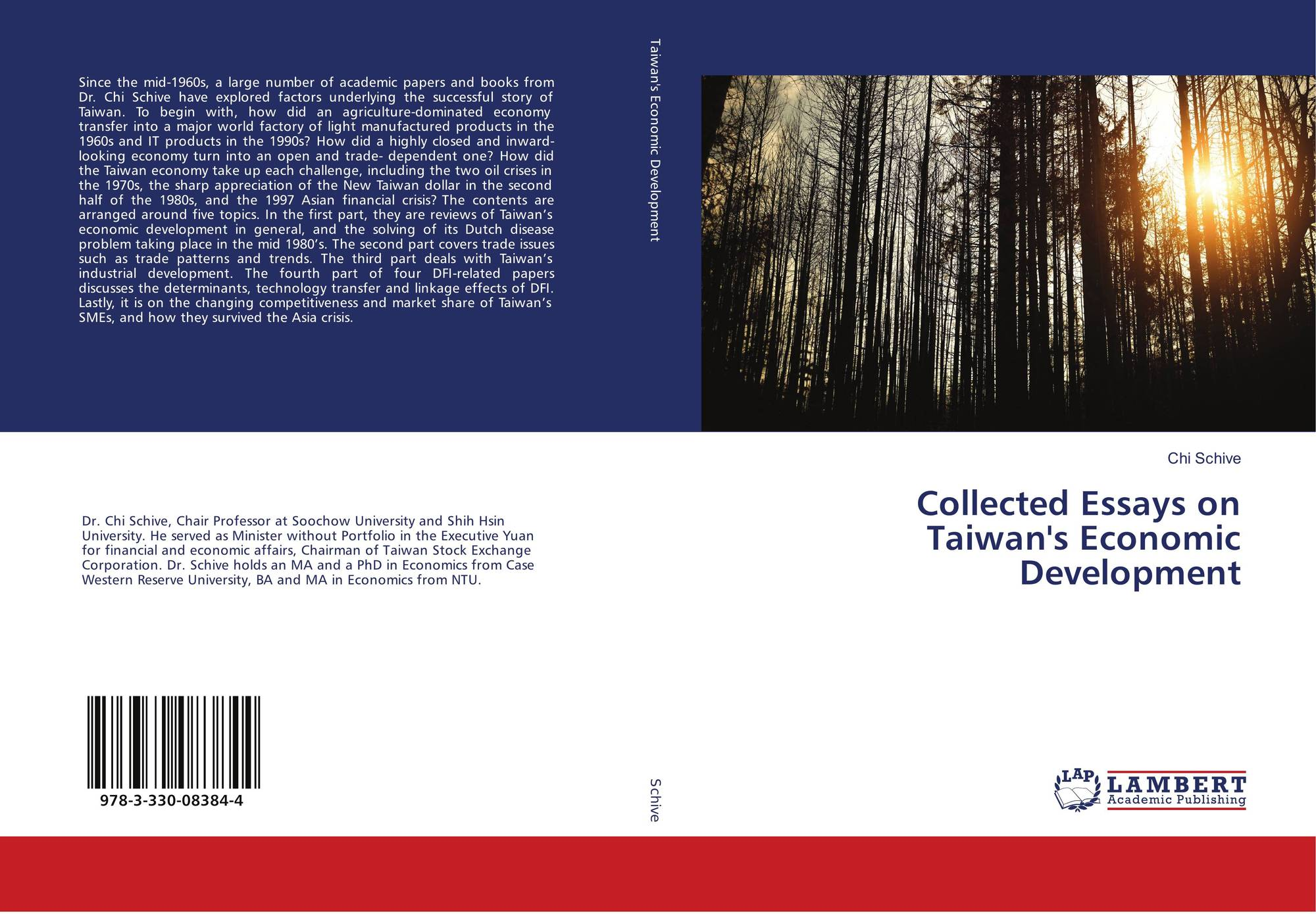 Collected Essays On Taiwans Economic Development   Bookcover Of Collected Essays On Taiwans Economic Development