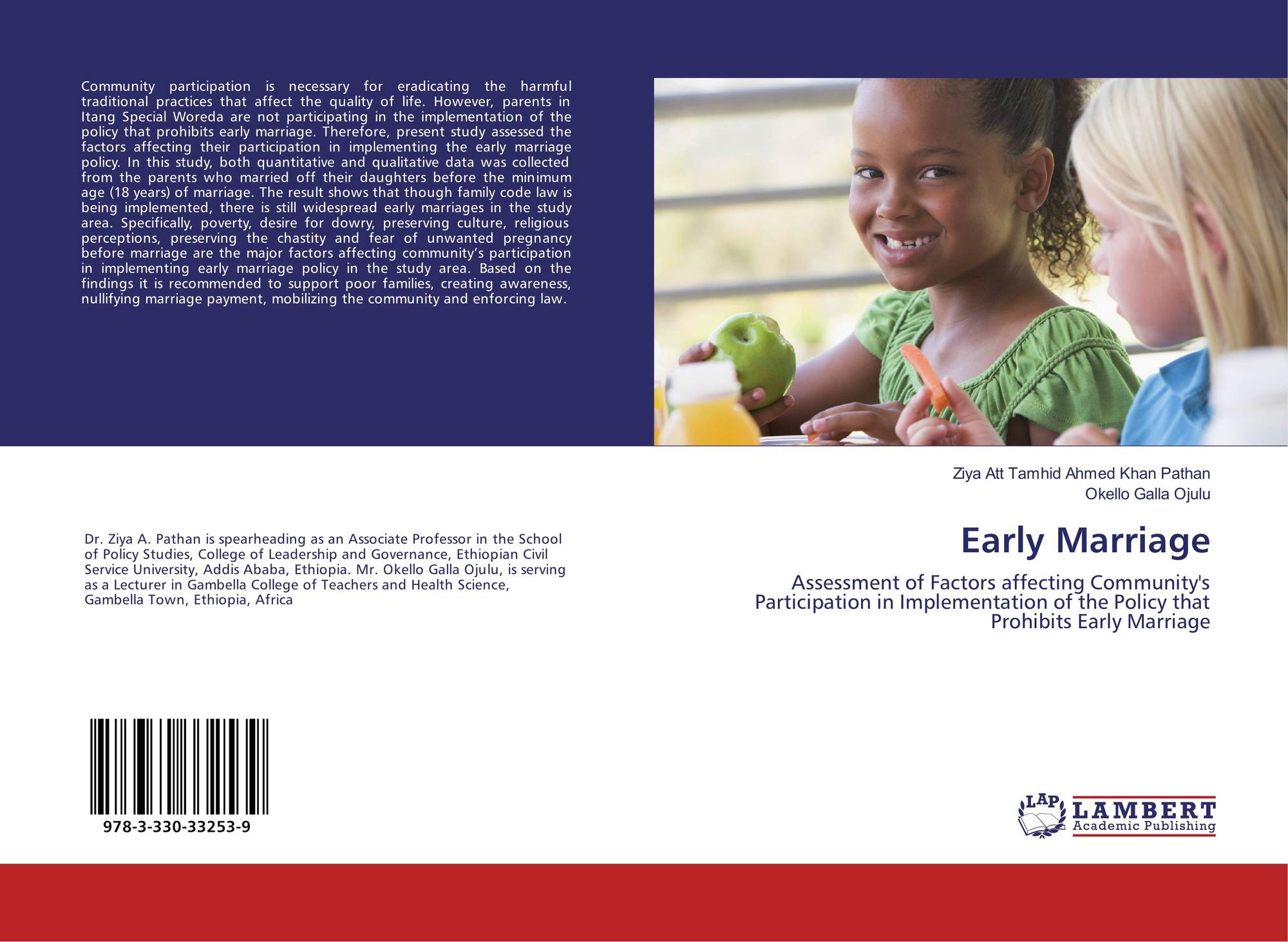 Early Marriage, 978-3-330-33253-9, 3330332530 ,9783330332539 by Ziya