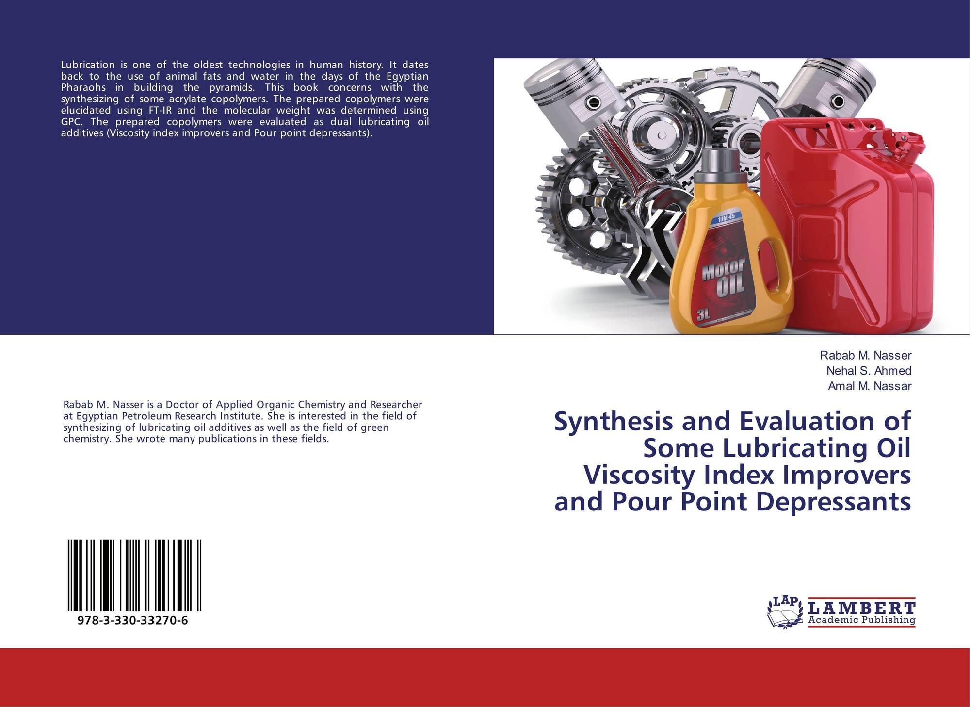 Synthesis and Evaluation of Some Lubricating Oil Viscosity