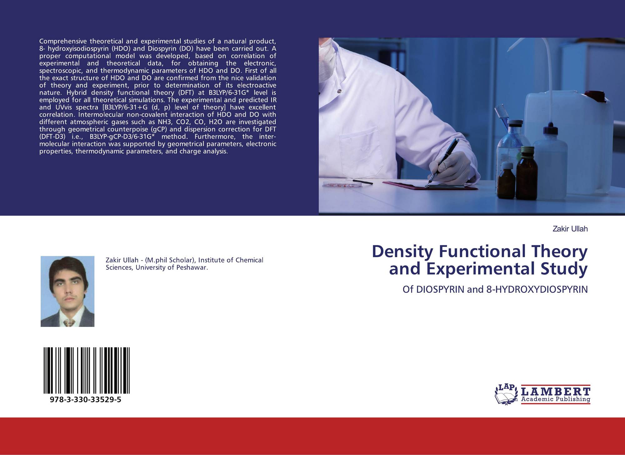 Density Functional Theory and Experimental Study, 978-3-330