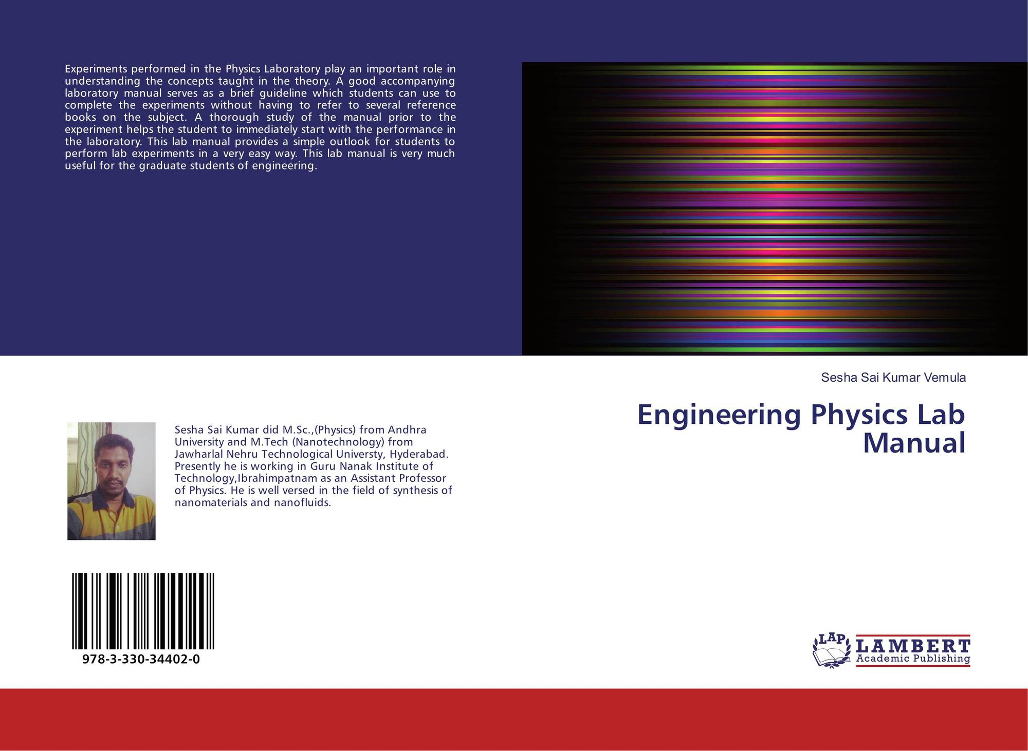 Bookcover of Engineering Physics Lab Manual