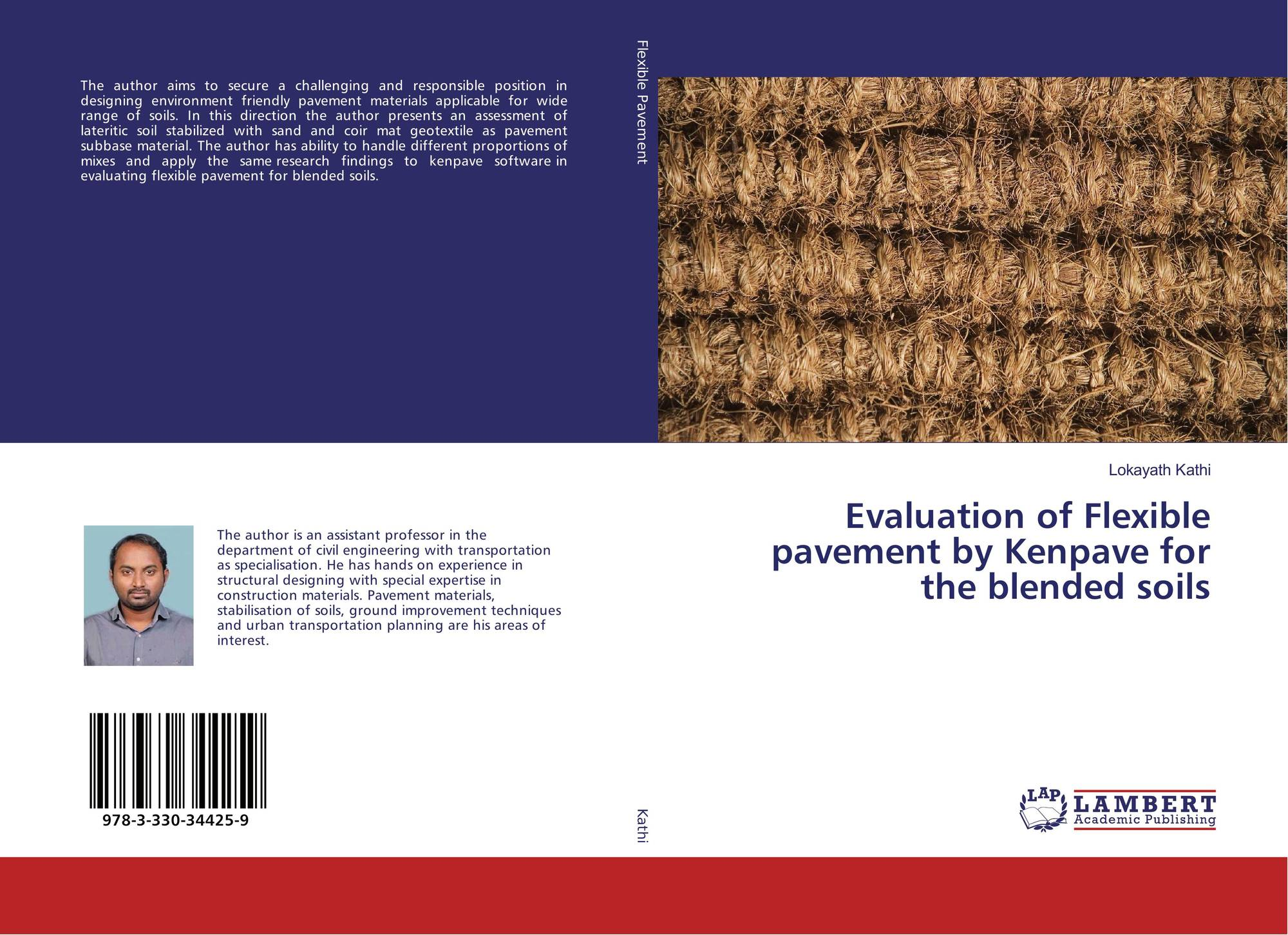 Evaluation Of Flexible Pavement By Kenpave For The Blended Soils 978 3 330 34425 9 3330344253 9783330344259 By Lokayath Kathi