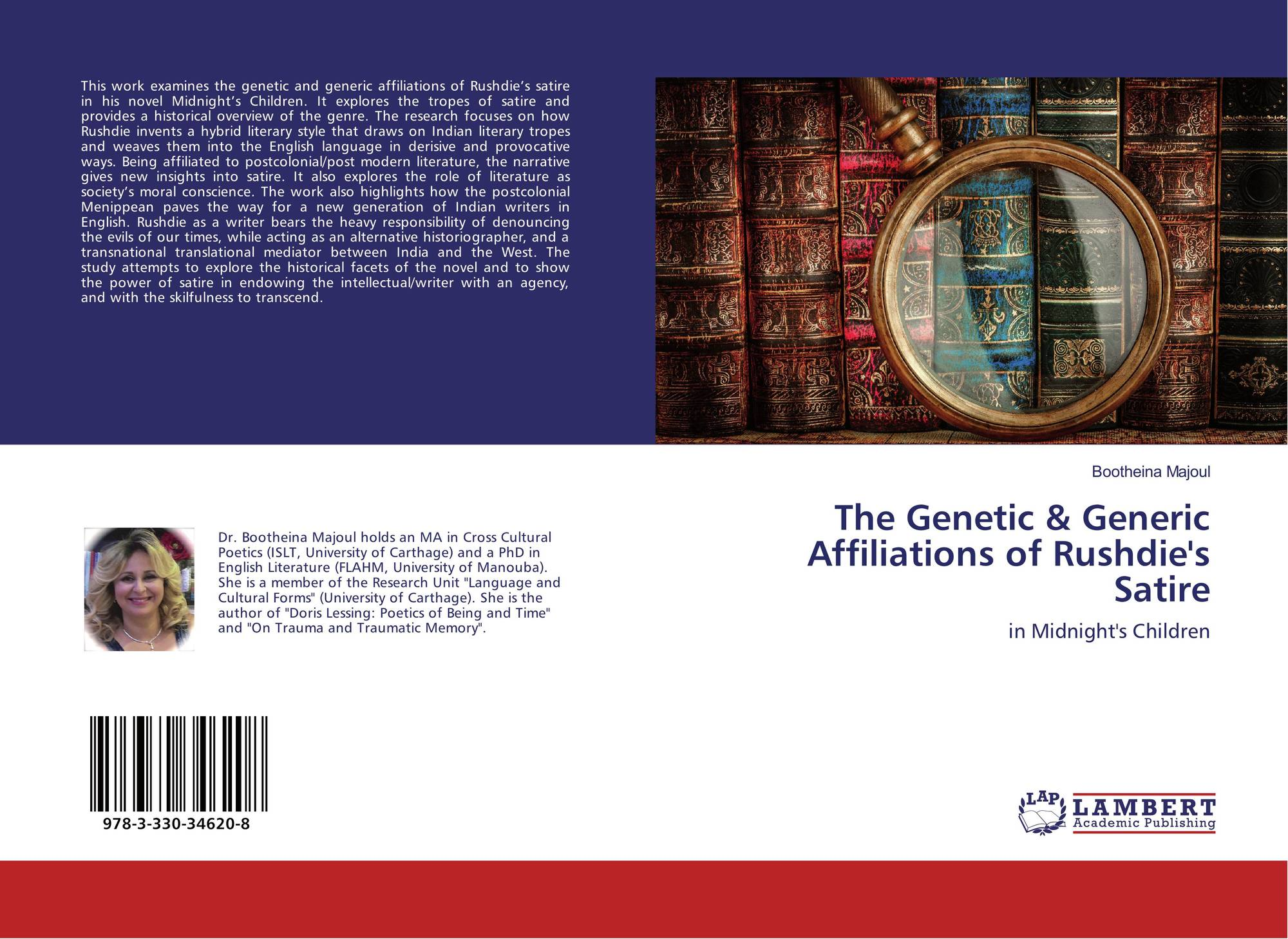 The Genetic Generic Affiliations Of Rushdie S Satire 978 3 330