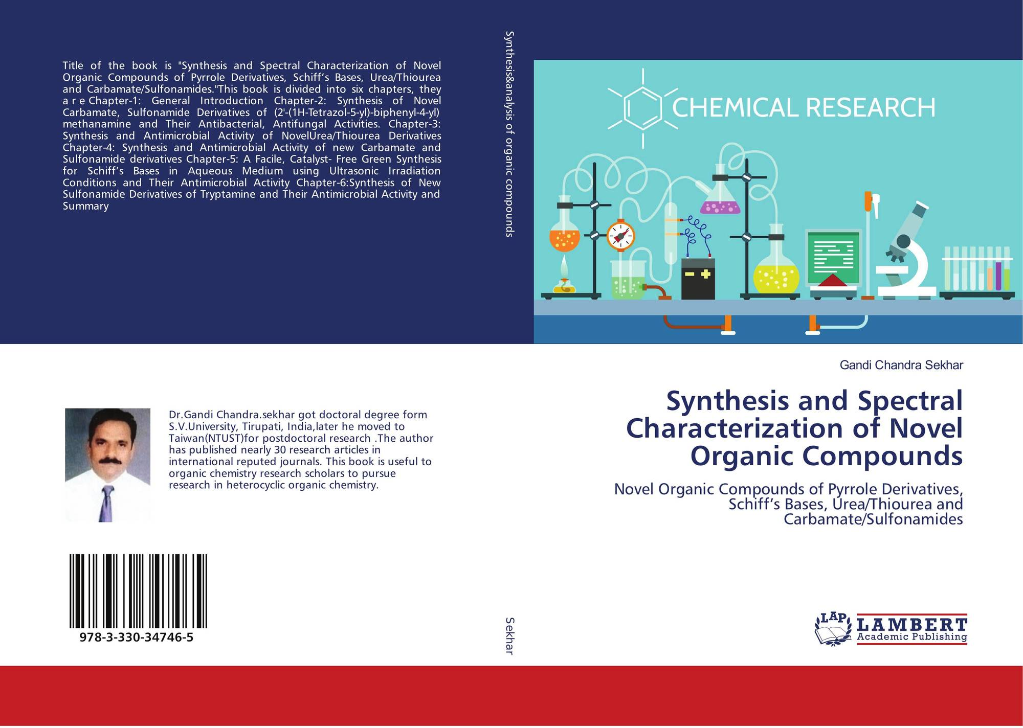 Synthesis and Spectral Characterization of Novel Organic Compounds