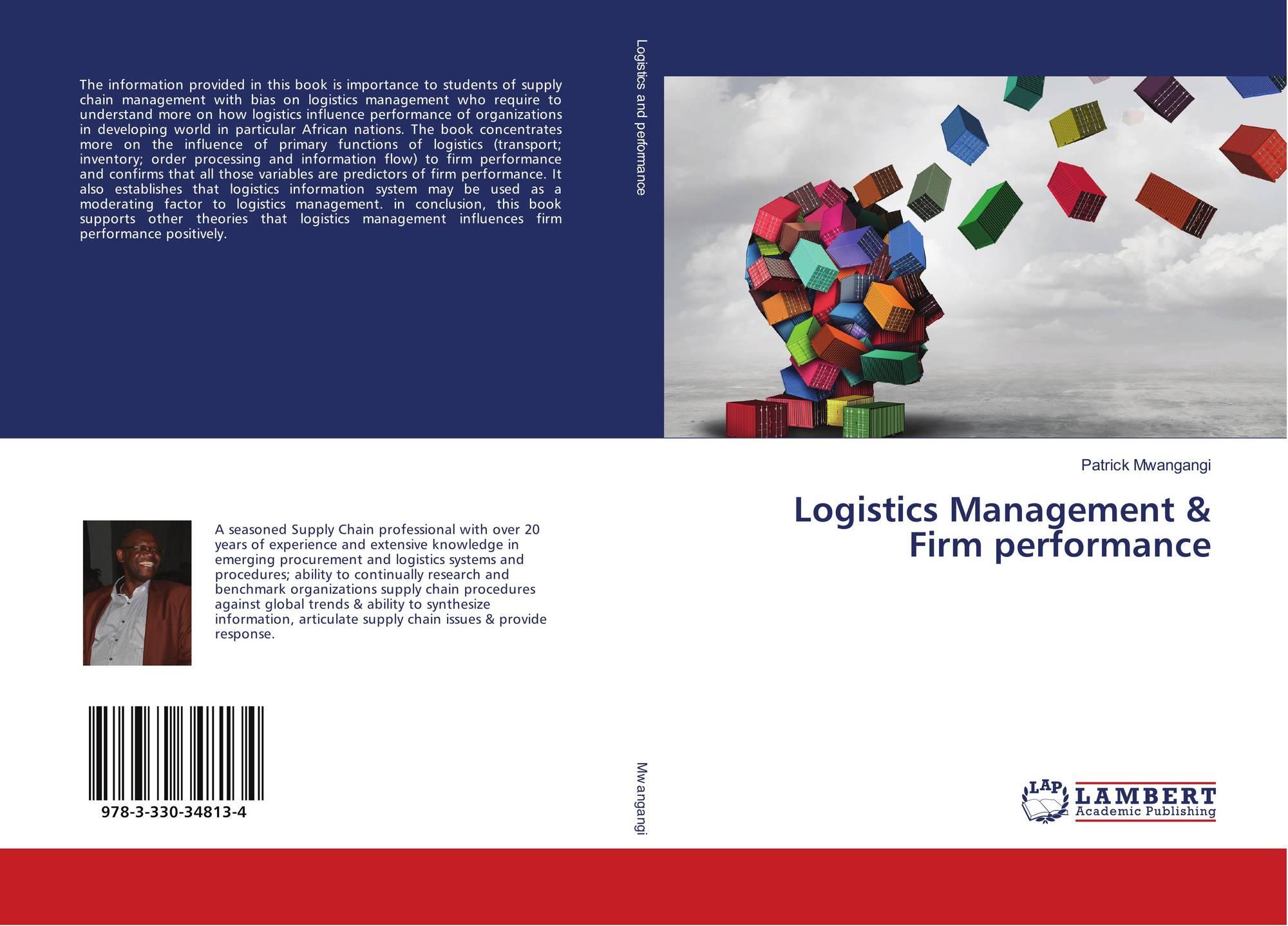 Logistics Management & Firm performance, 978-3-330-34813-4