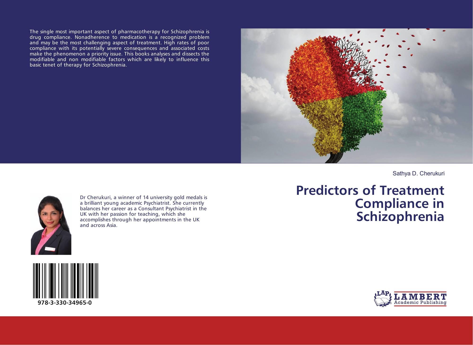 Predictors of Treatment Compliance in Schizophrenia, 978-3