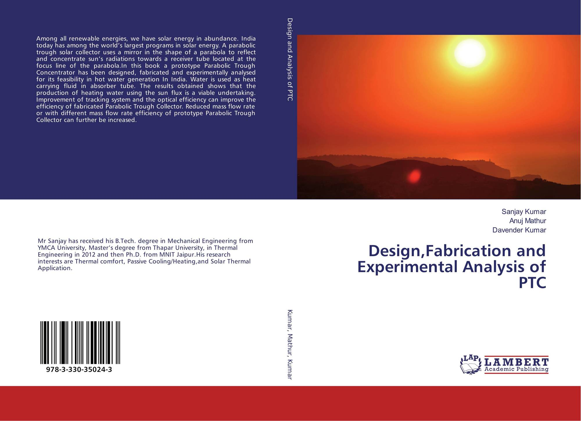 design fabrication and performance analysis of