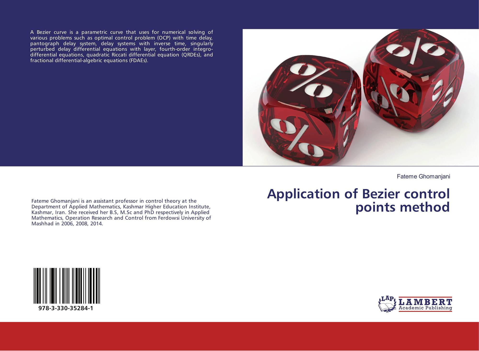 Application of Bezier control points method, 978-3-330-35284