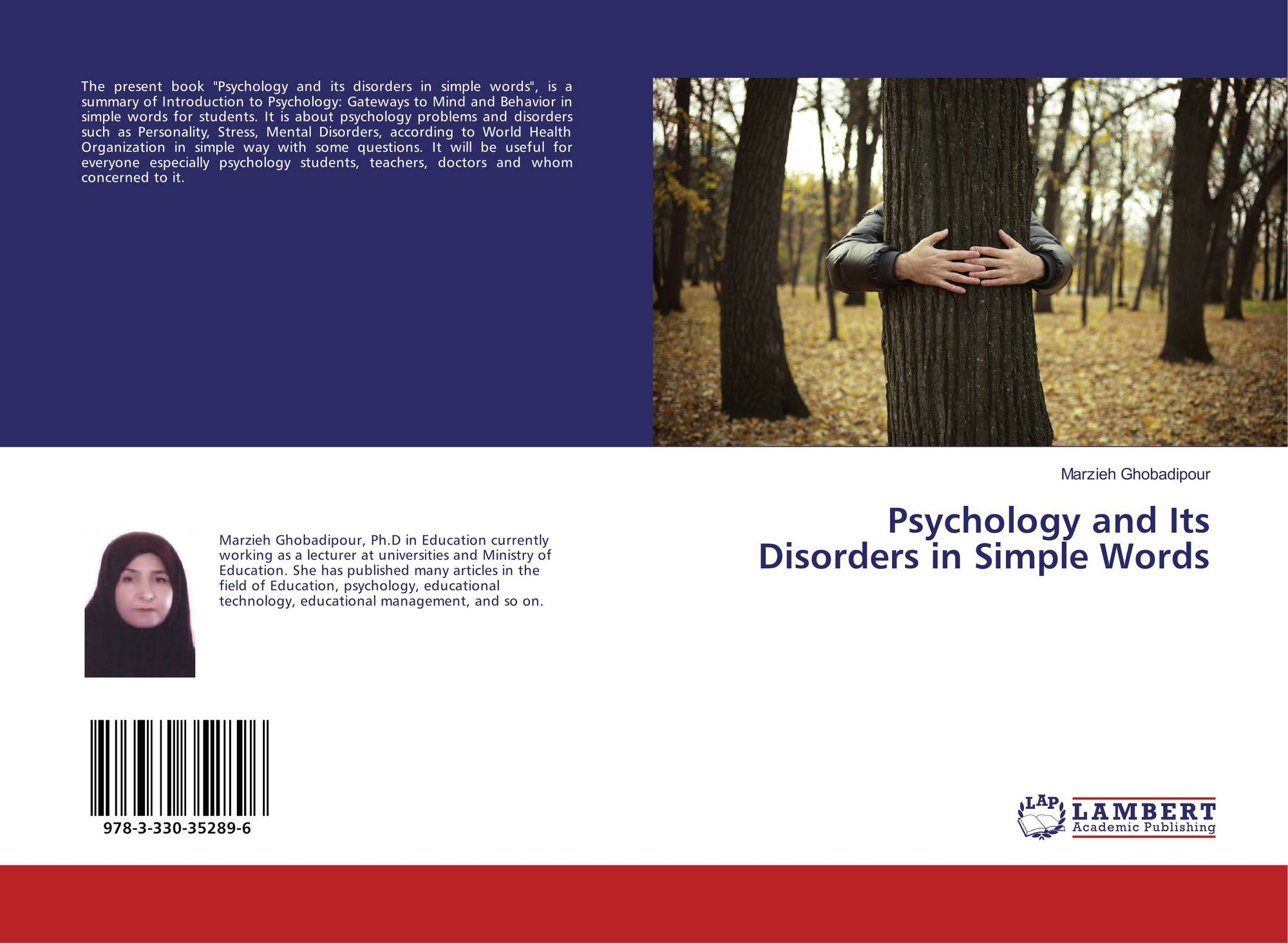 Psychology and Its Disorders in Simple Words, 978-3-330