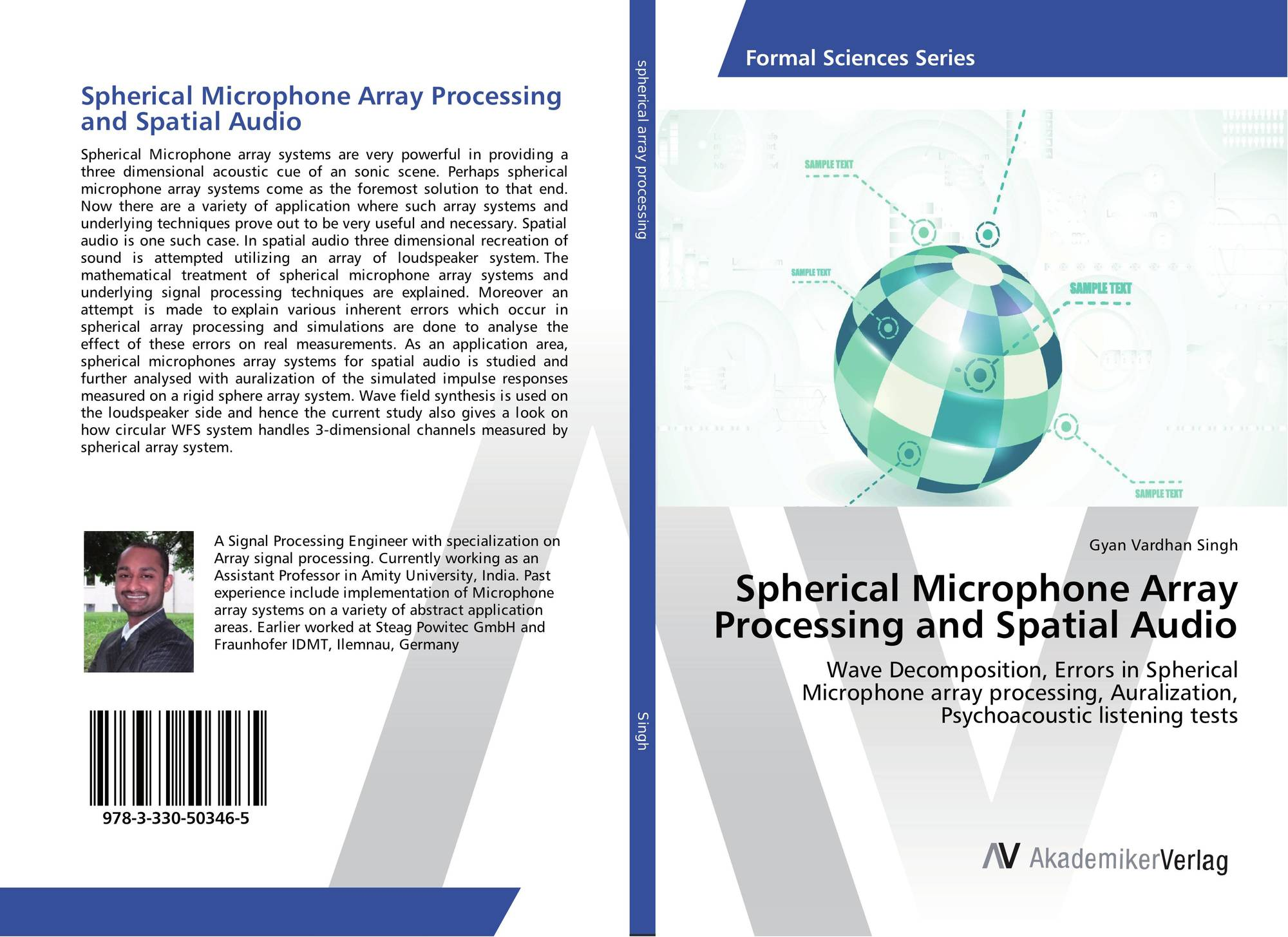 Spherical Microphone Array Processing and Spatial Audio, 978-3-330