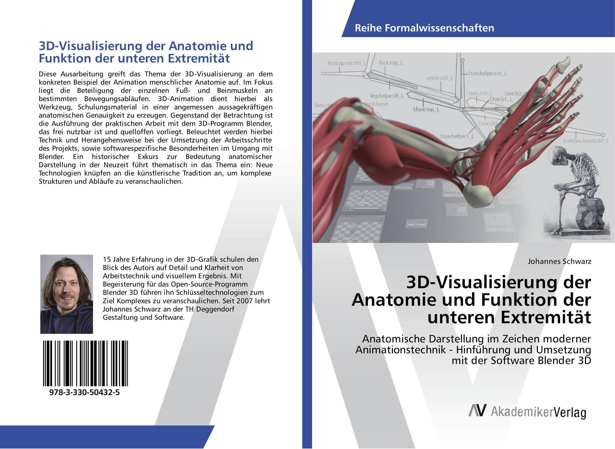 3D-Visualisierung der Anatomie und Funktion der unteren Extremität ...