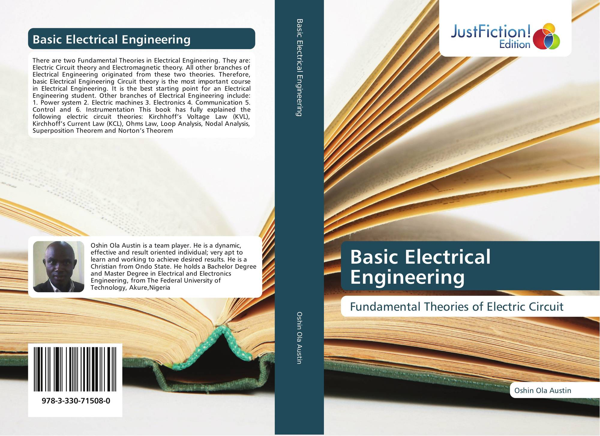 Basic Electrical Engineering 978 3 330 71508 0 3330715081 For Electric Circuits Learn Bookcover Of 9783330715080