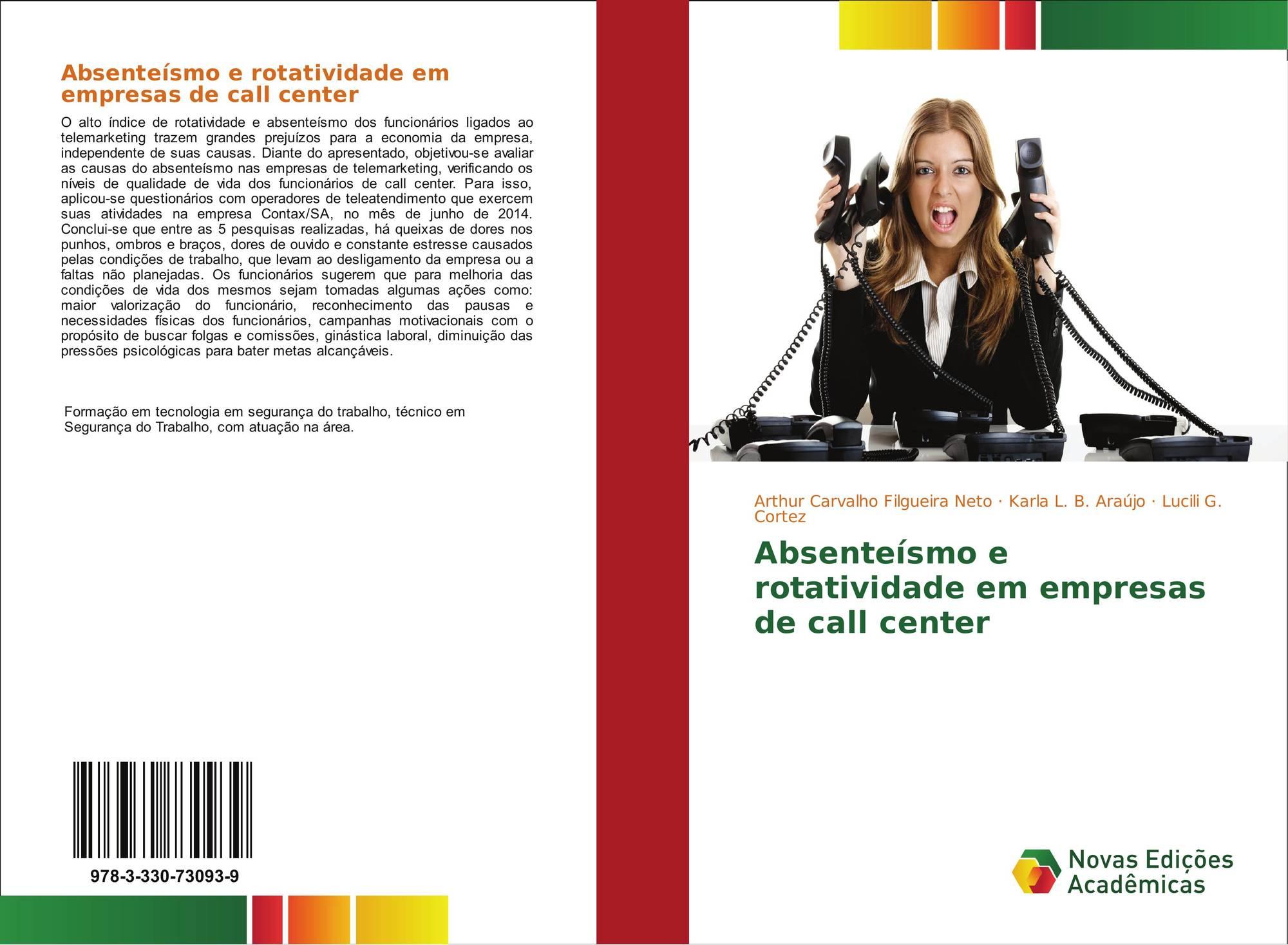 Absenteísmo E Rotatividade Em Empresas De Call Center 978 3