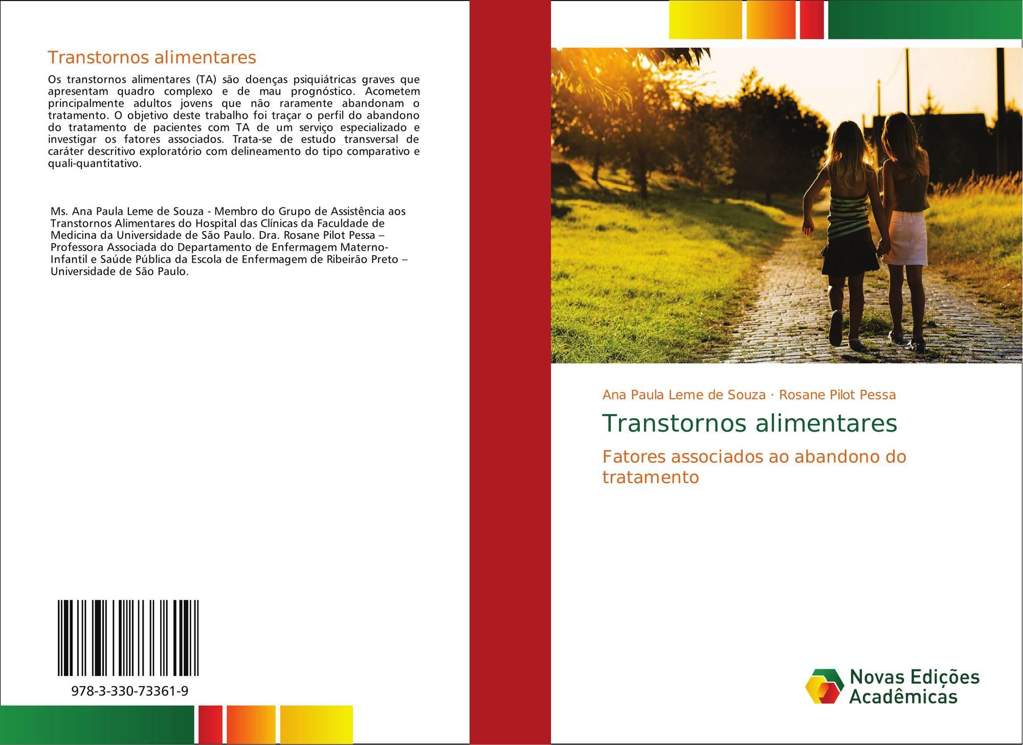 Ana Paula Leme transtornos alimentares, 978-3-330-73361-9, 3330733616