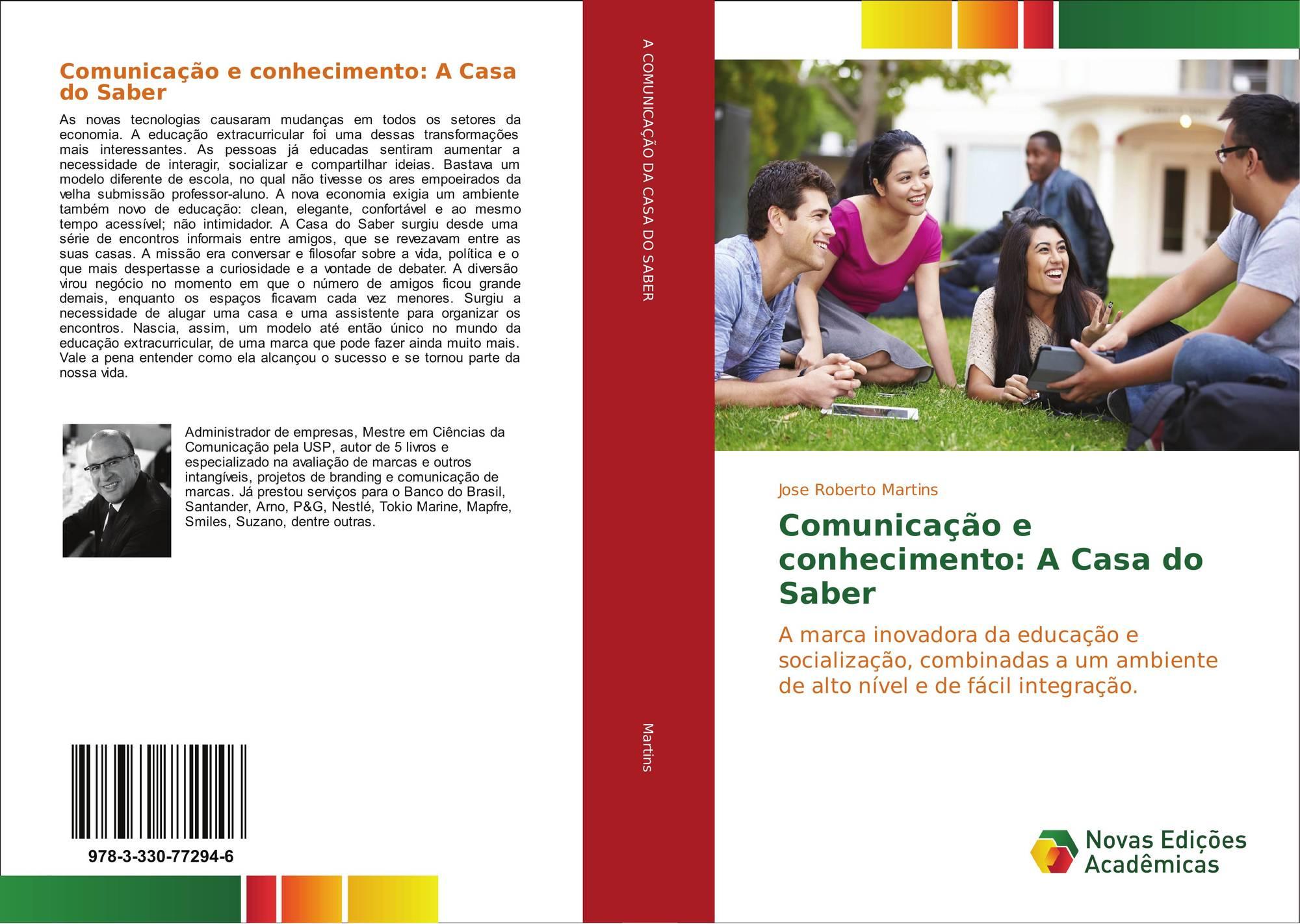 Portada del libro de Comunicação e conhecimento  A Casa do Saber ca2084a798