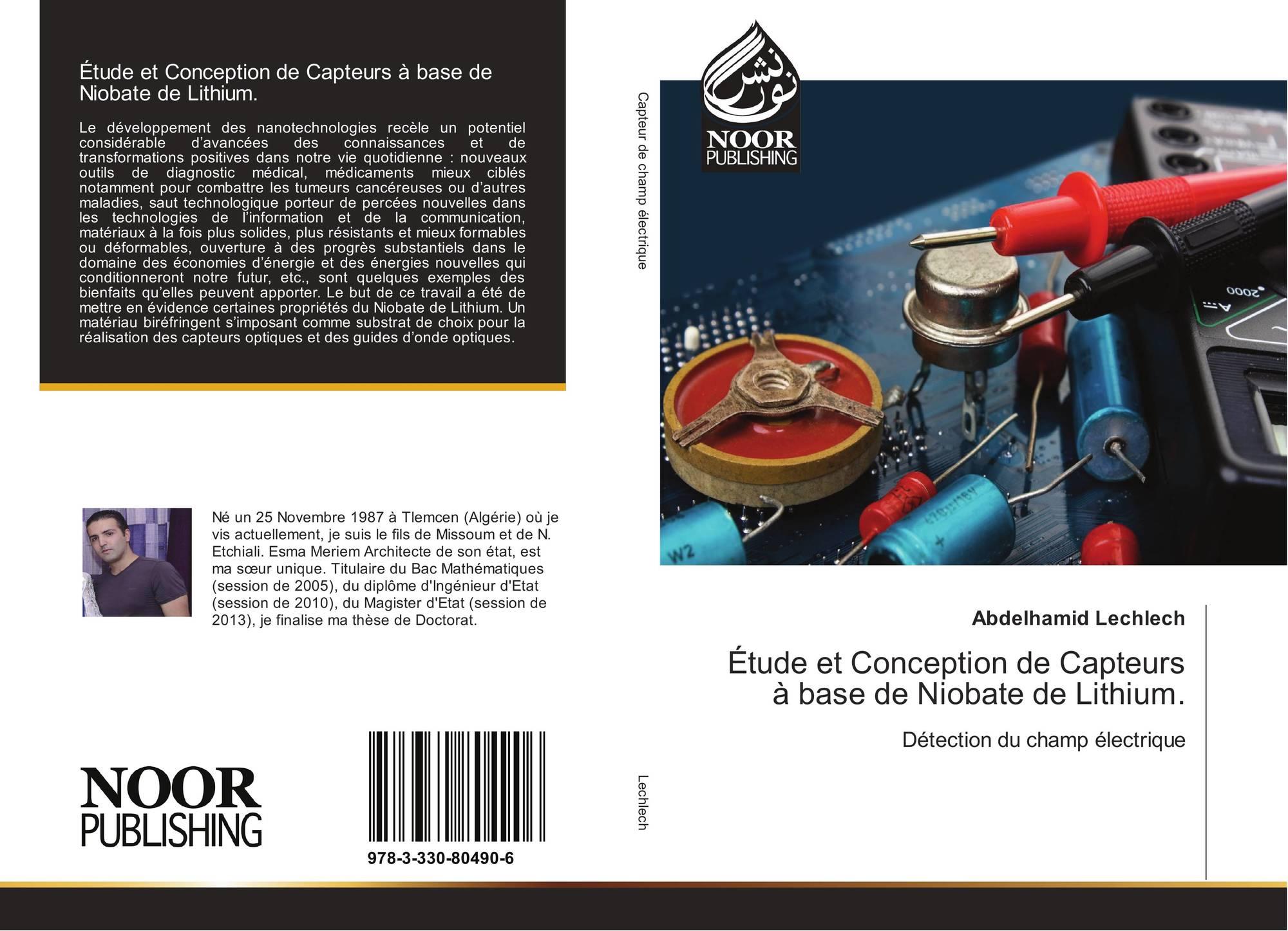 Tude et conception de capteurs base de niobate de for Etude de conception