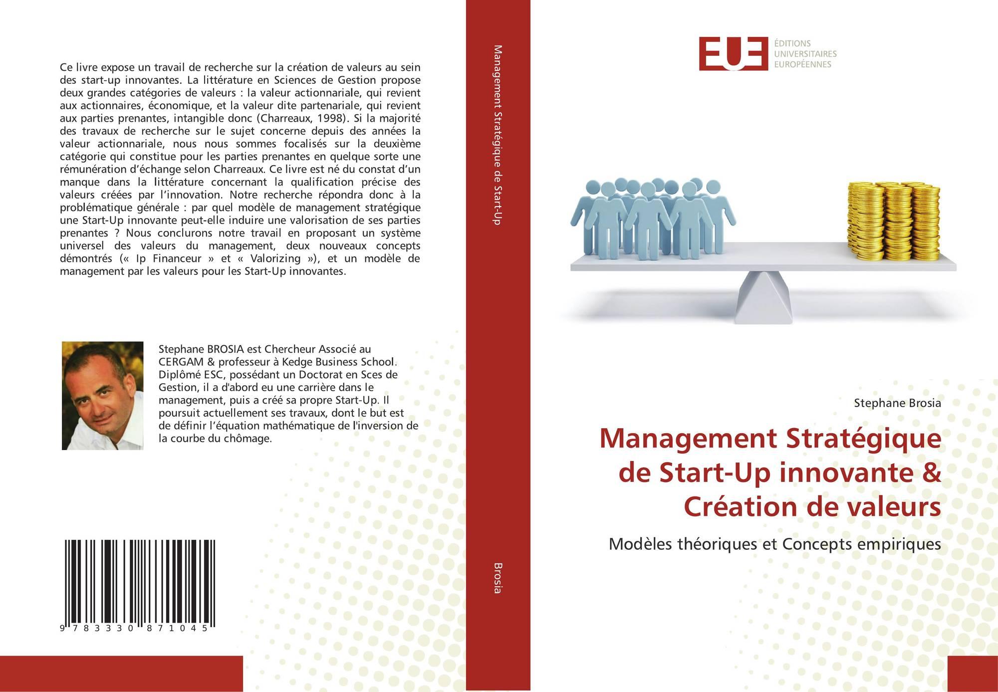 management strat gique de start up innovante cr ation de