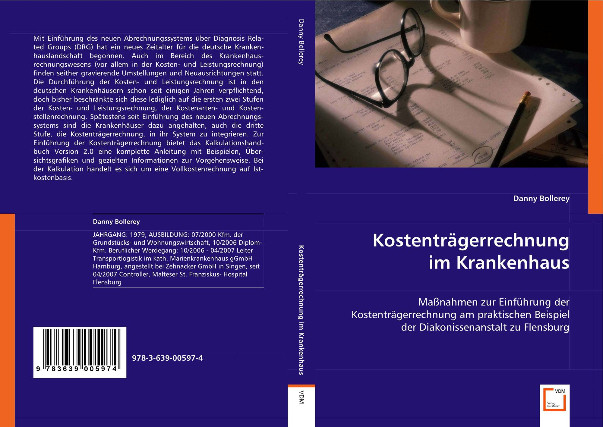 bookcover of kostentrgerrechnung im krankenhaus - Kostentragerrechnung Beispiel