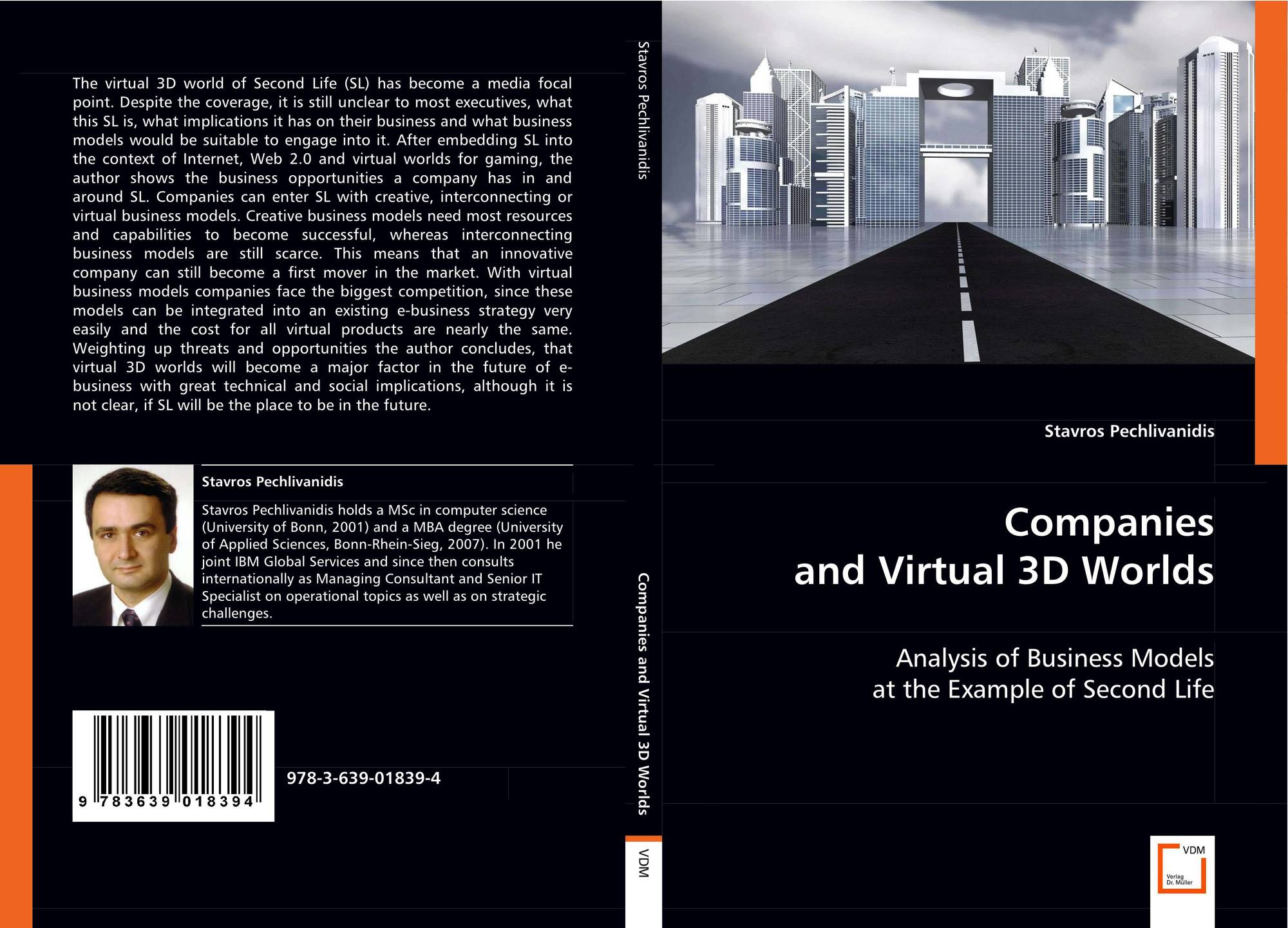 Bookcover Of Companies And Virtual 3D Worlds