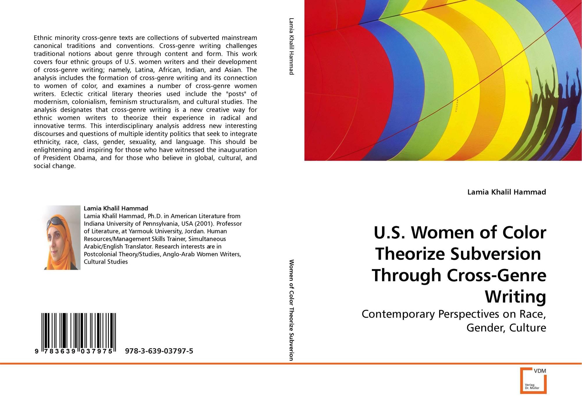 Couverture de U.S. Women of Color Theorize Subversion Through Cross-Genre  Writing