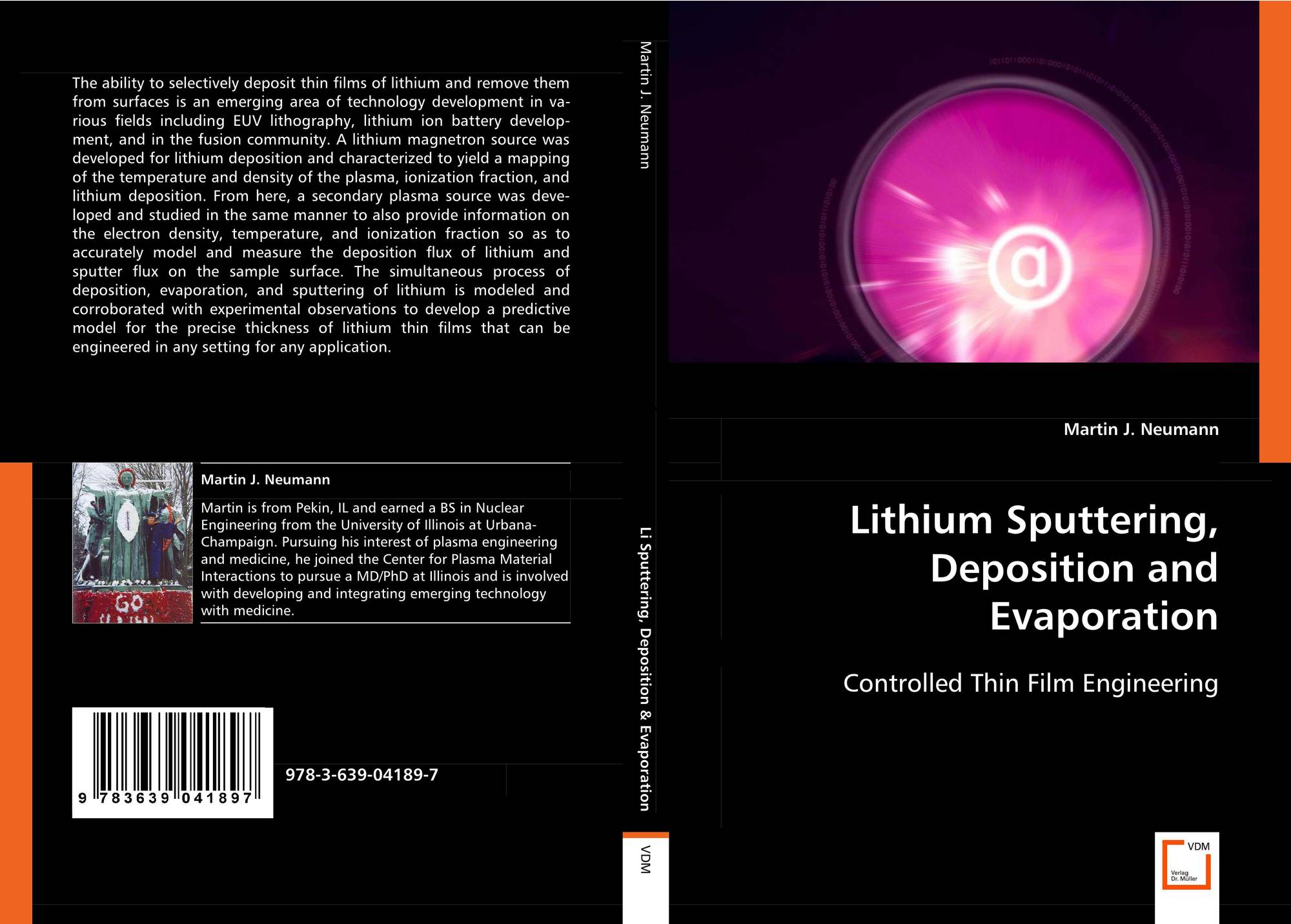 Lithium Sputtering, Deposition and Evaporation, 978-3-639