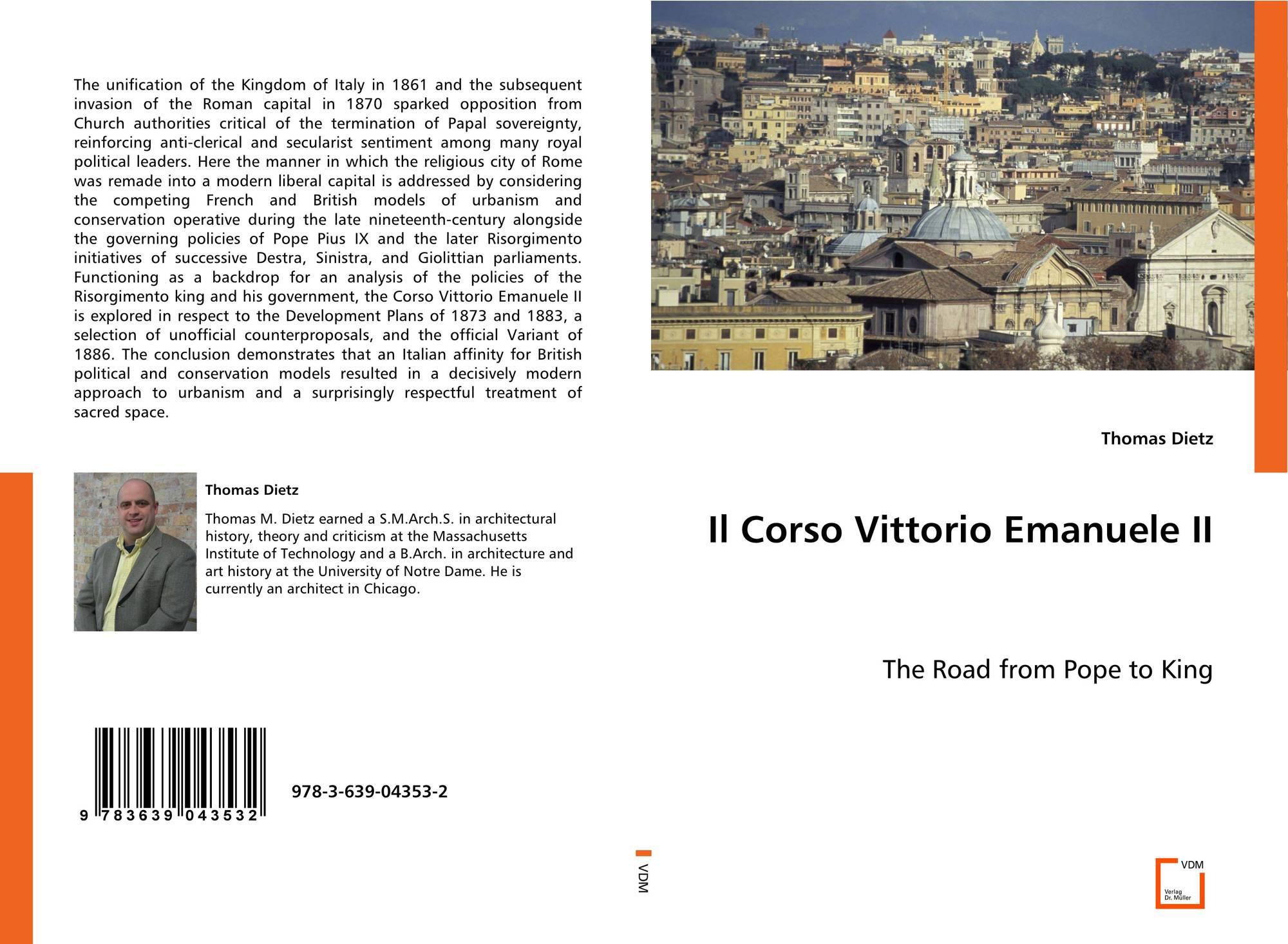 Il Corso Vittorio Emanuele II, 978-3-639-04353-2, 3639043537 ... 9d7ef1362f