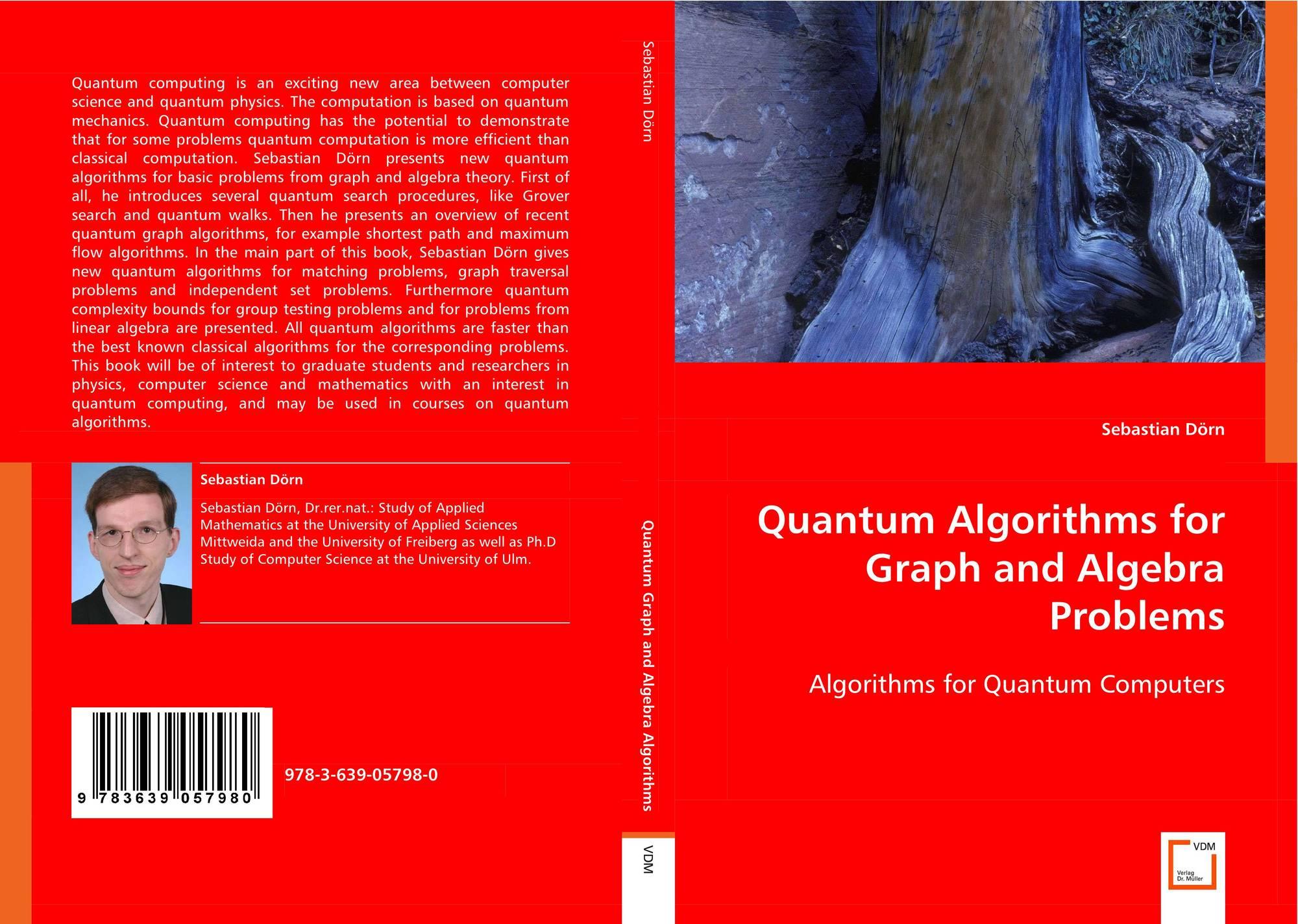 Quantum Algorithms for Graph and Algebra Problems, 978-3-639