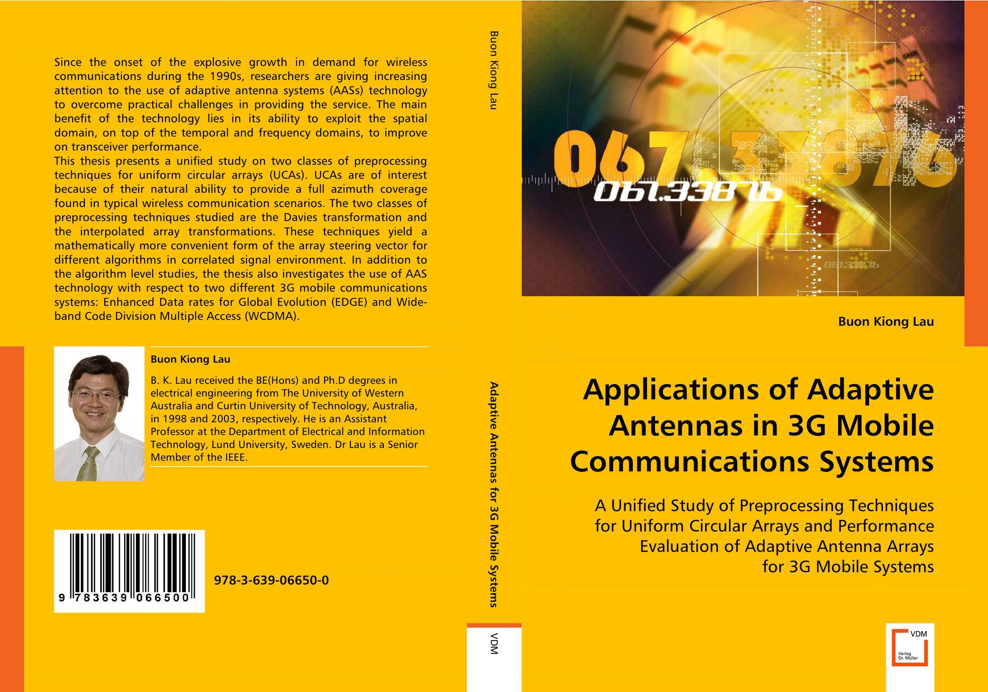 Applications of Adaptive Antennas in 3G Mobile Communications