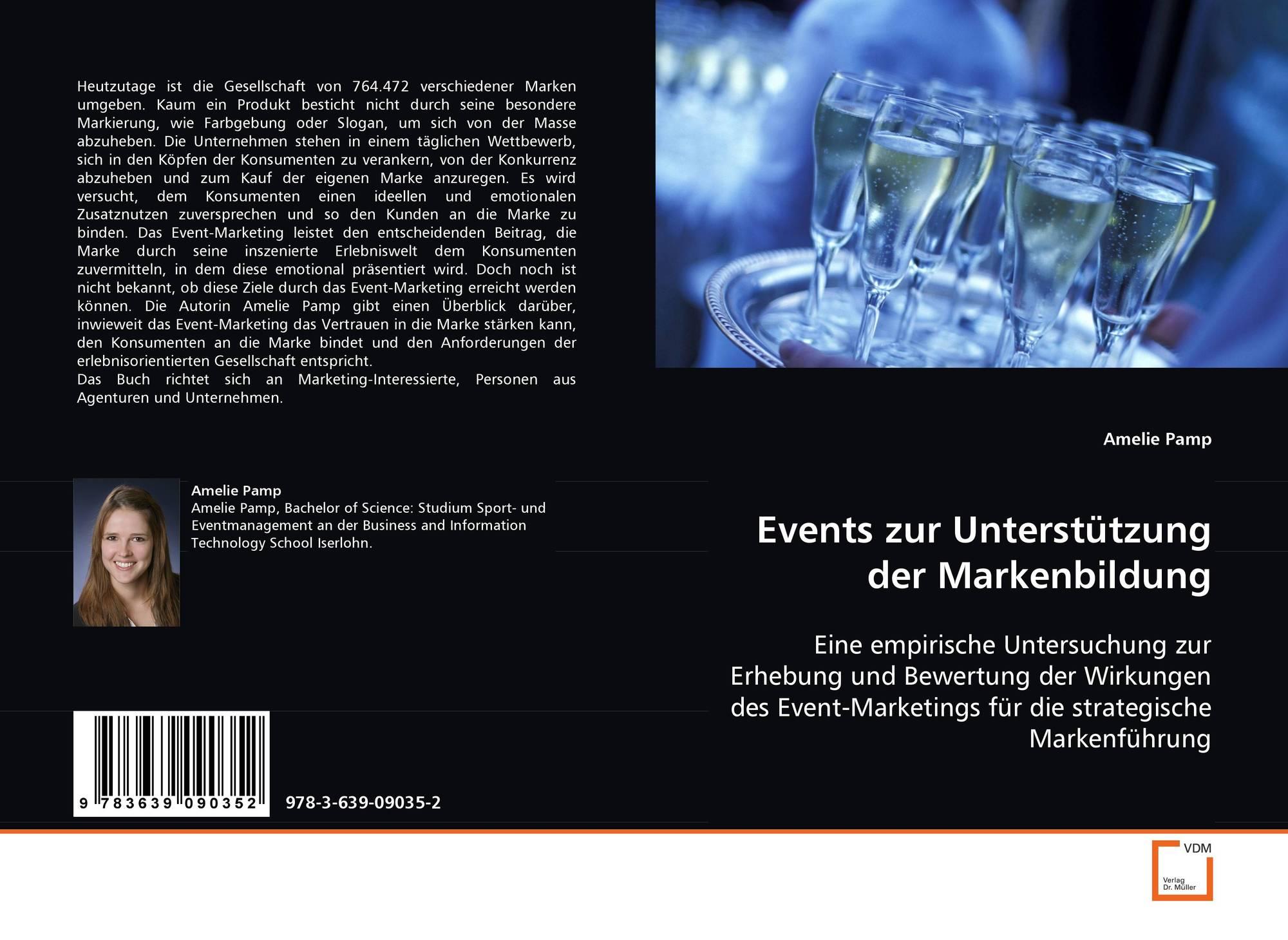 Events zur Unterstützung der Markenbildung, 978-3-639-09035-2 ...