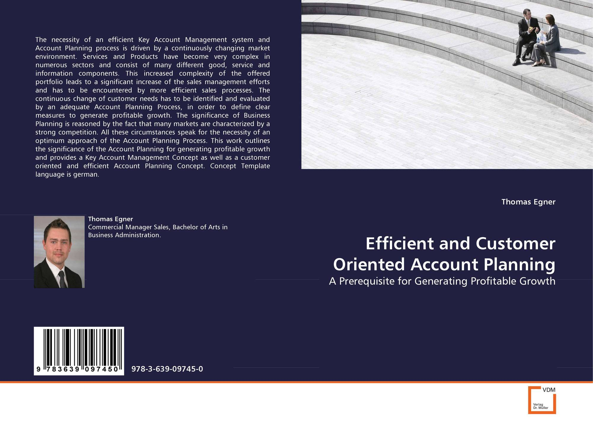 German/customer/account/create - Bookcover Of Efficient And Customer Oriented Account Planning