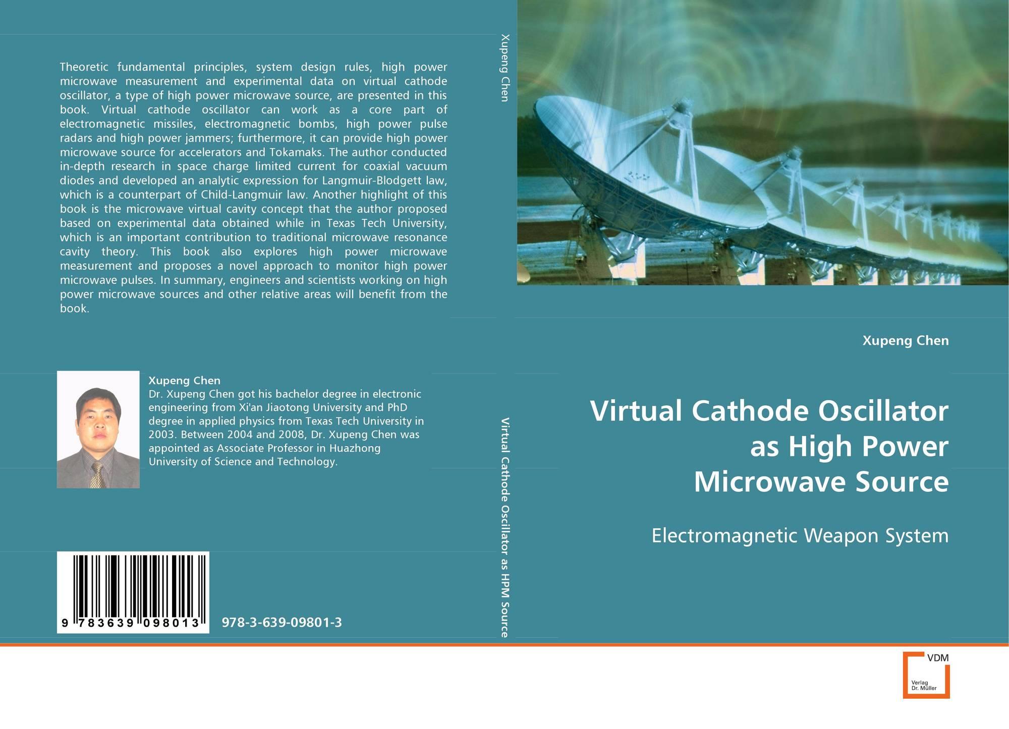 Virtual Cathode Oscillator as High Power Microwave Source, 978-3-639
