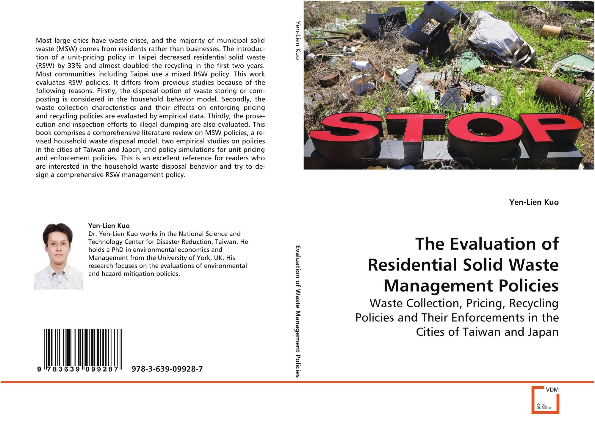 The Evaluation of Residential Solid Waste ManagementPolicies, 978-3