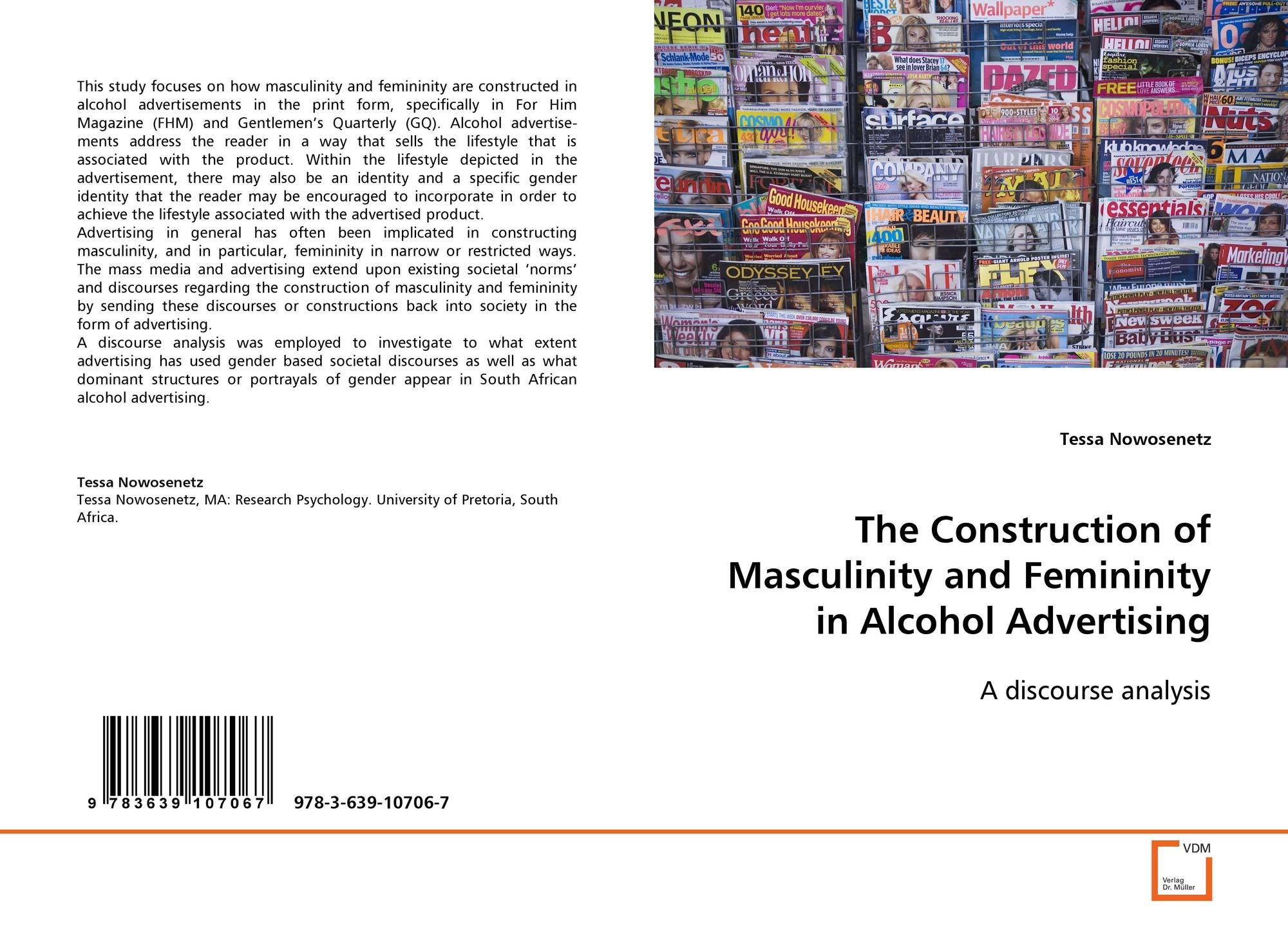 what are some examples of concepts or constructions of masculinity and femininity in society and in  What are some examples of concepts or constructions of masculinity and femininity in society and in media no longer possible in contemporary society to interpret femininity and masculinity.