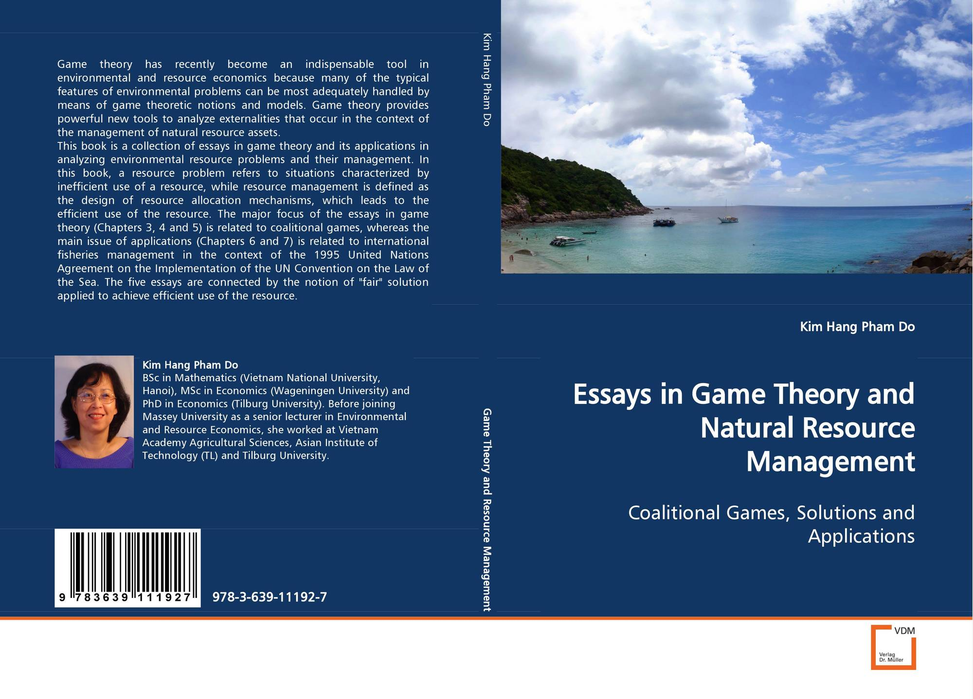 search results for game theory complete analysis of an infinite  bookcover of essays in game theory and natural resource management