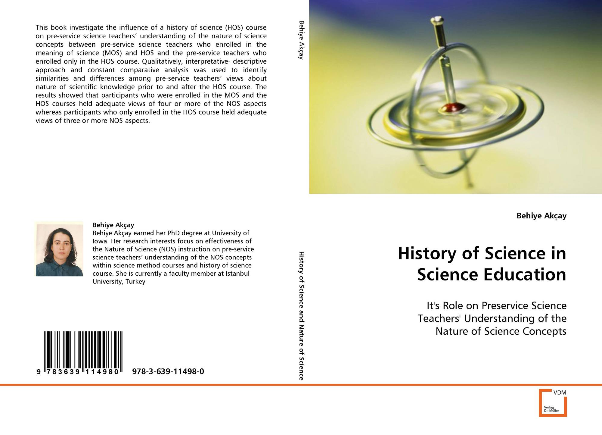 Bookcover Of History Science In Education