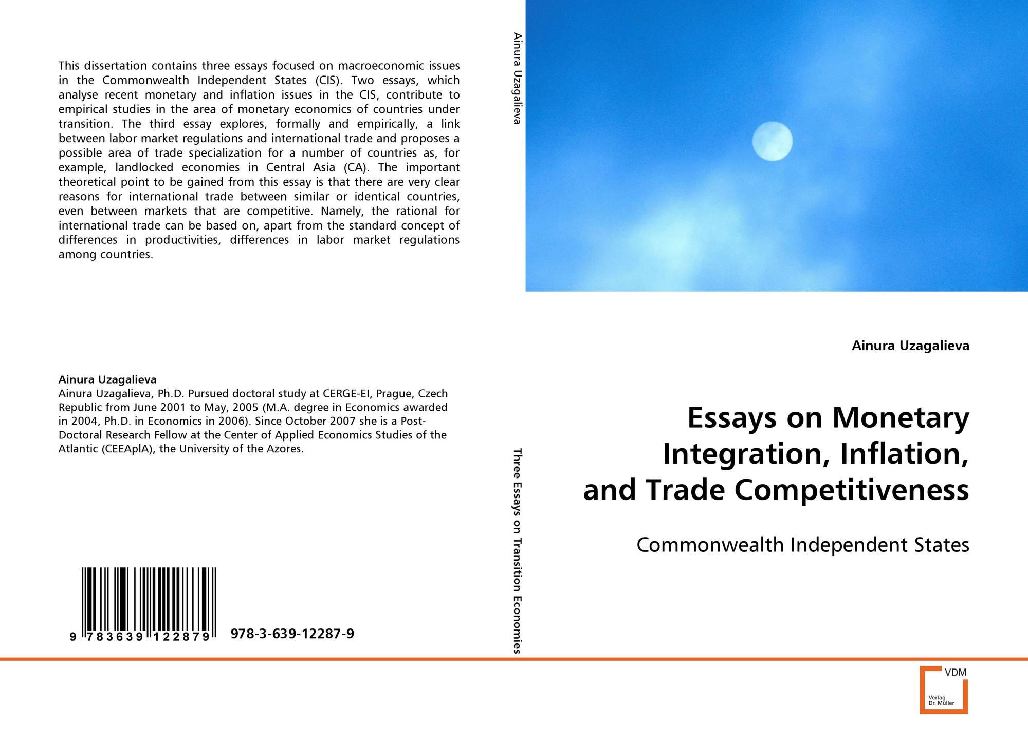 dissertation international trade