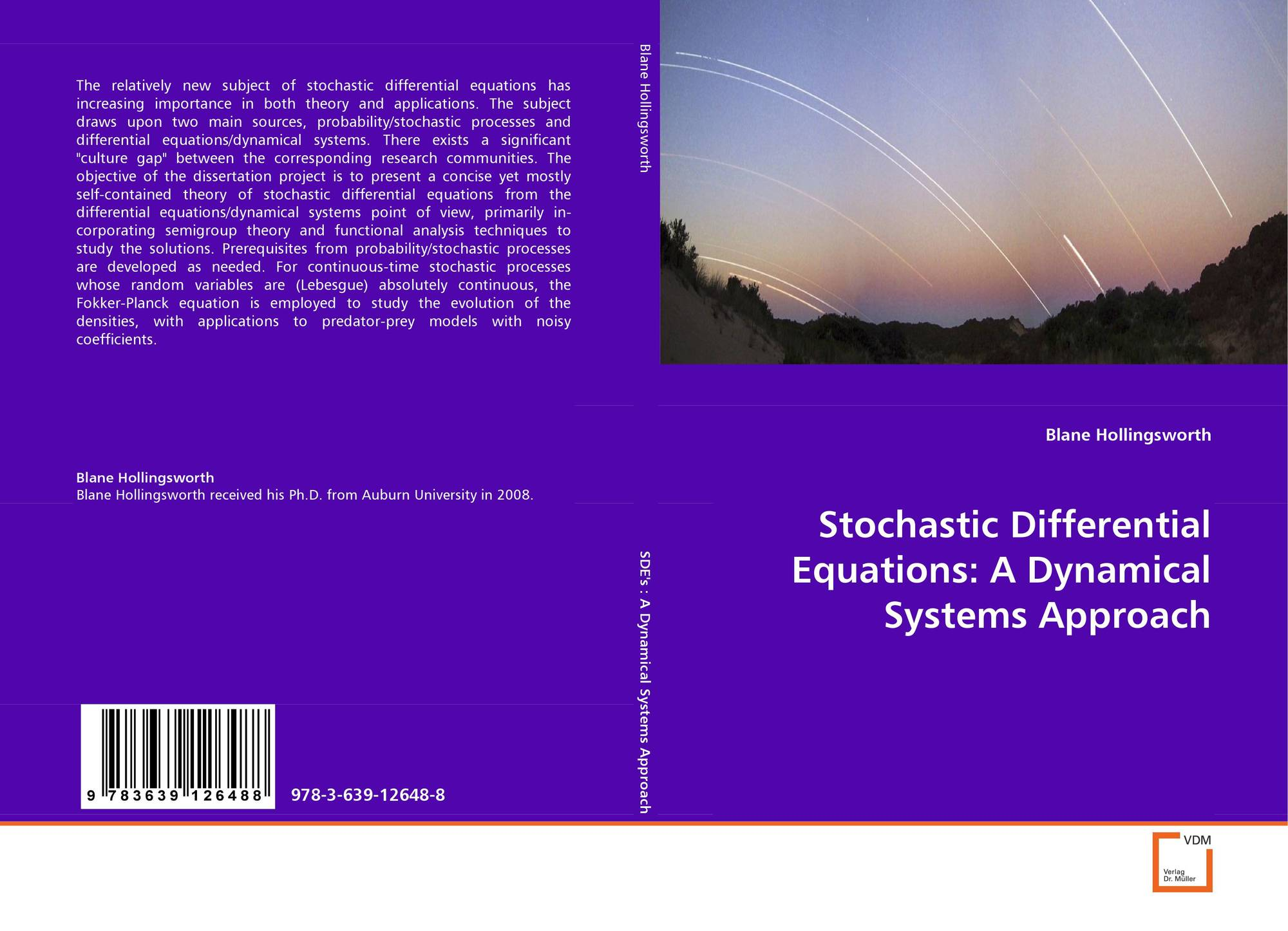 Stochastic Differential Equations: A DynamicalSystems