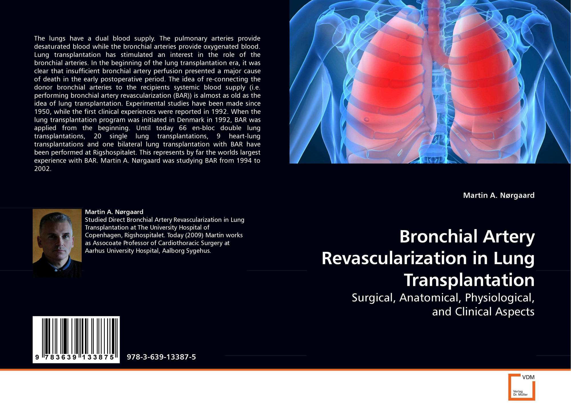 Bronchial Artery Revascularization In Lung Transplantation 978 3