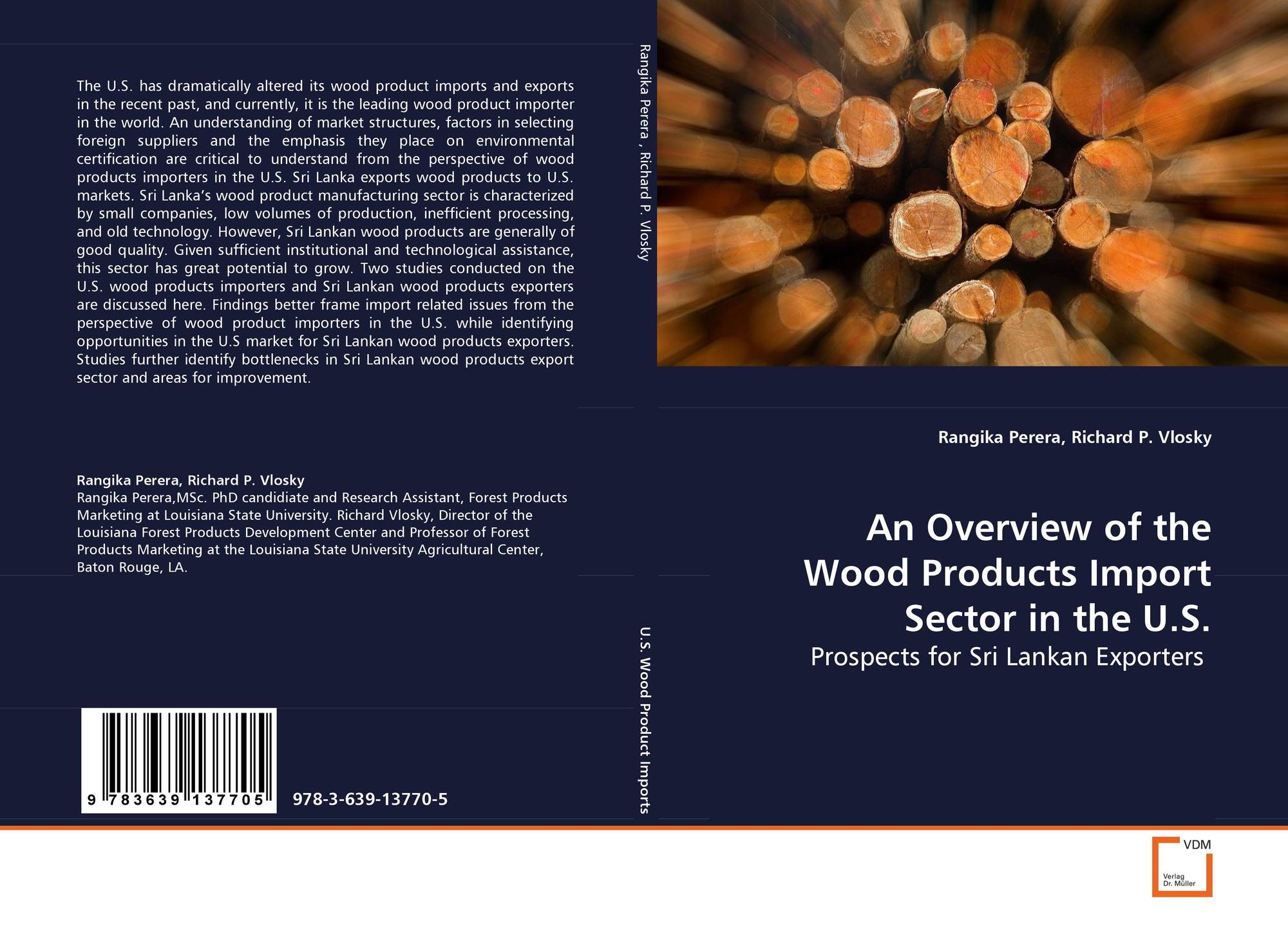 An Overview of the Wood Products Import Sector inthe U S
